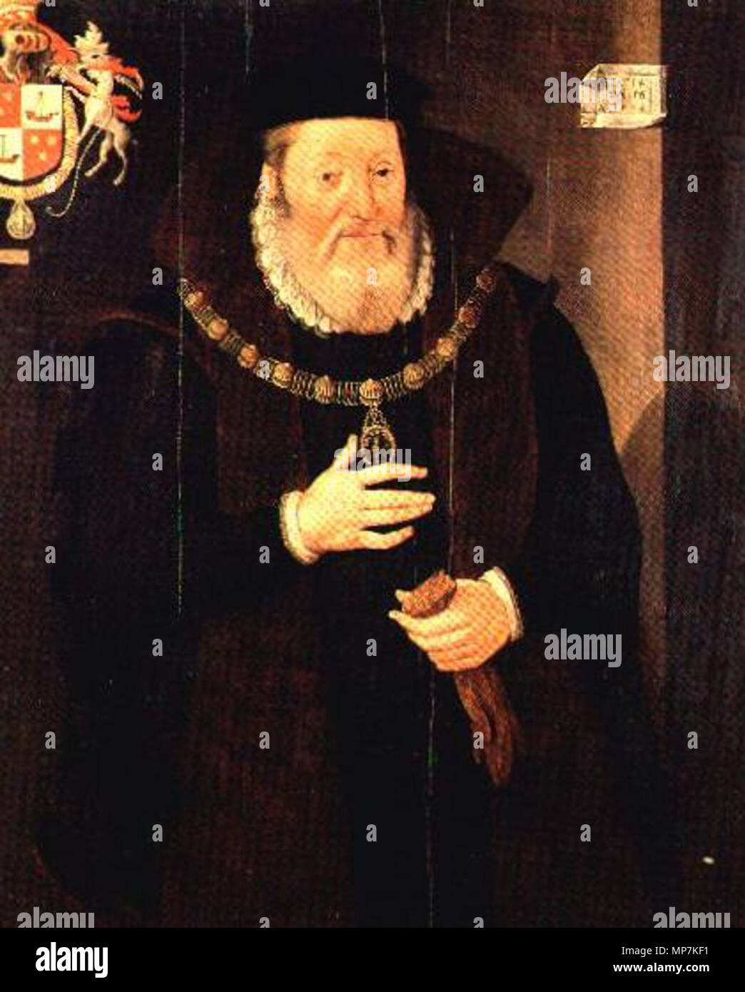 . James Hamilton 2nd Earl of Arran, later Duke of Chatelherault . 1578.   693 James Hamilton 2nd Earl of Arran - Stock Image
