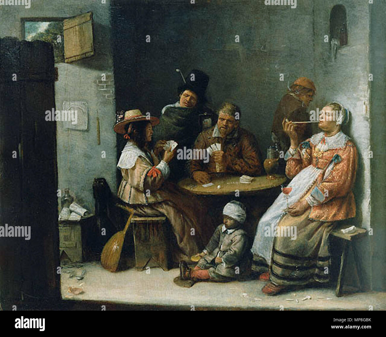 Card Players circa 1645. 737 Joos van Craesbeeck - Card Players