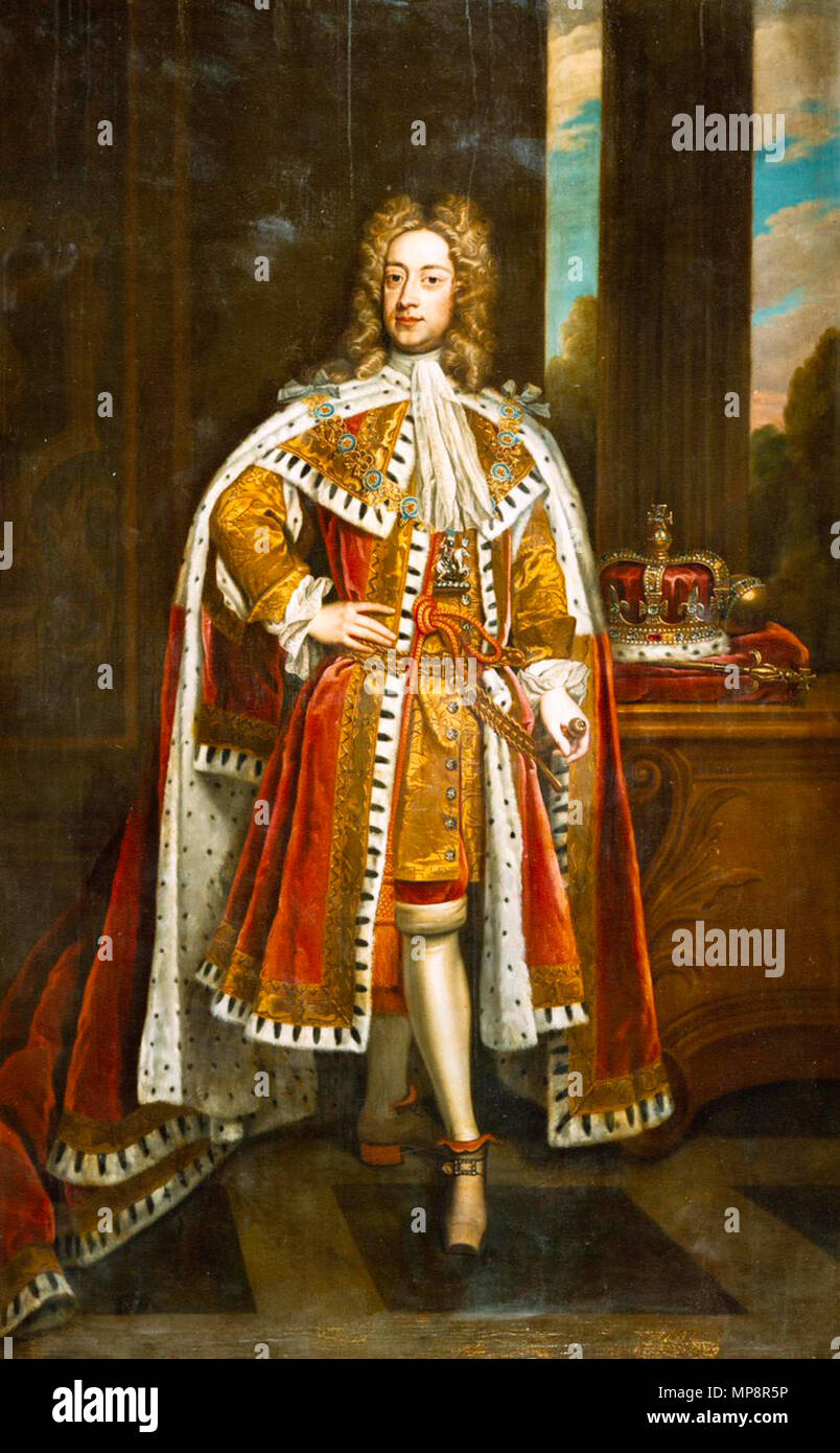 English: King George II of Great Britain (1683–1760) . after 1716. 765 King  George II of Great Britain