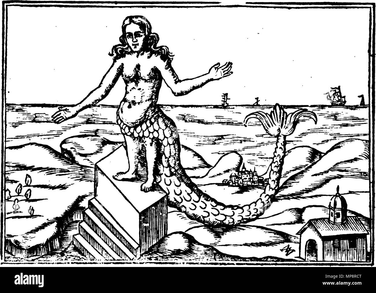 Oedipus black and white stock photos images alamy english derceto from athanasius kircher oedipus aegyptiacus 1652 25 november ccuart Choice Image