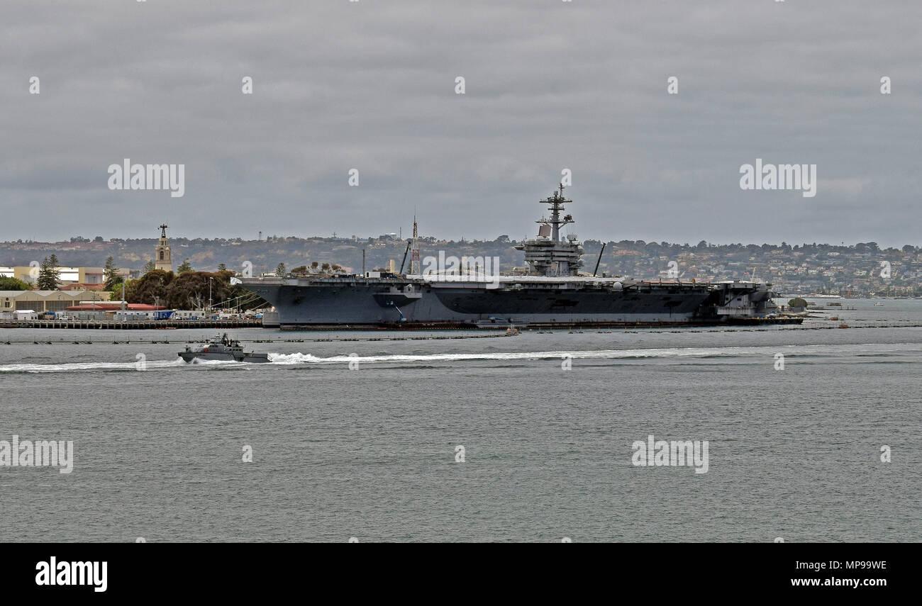 Uss Theodore Roosevelt Cvn 71 Aircraft Carrier San Diego