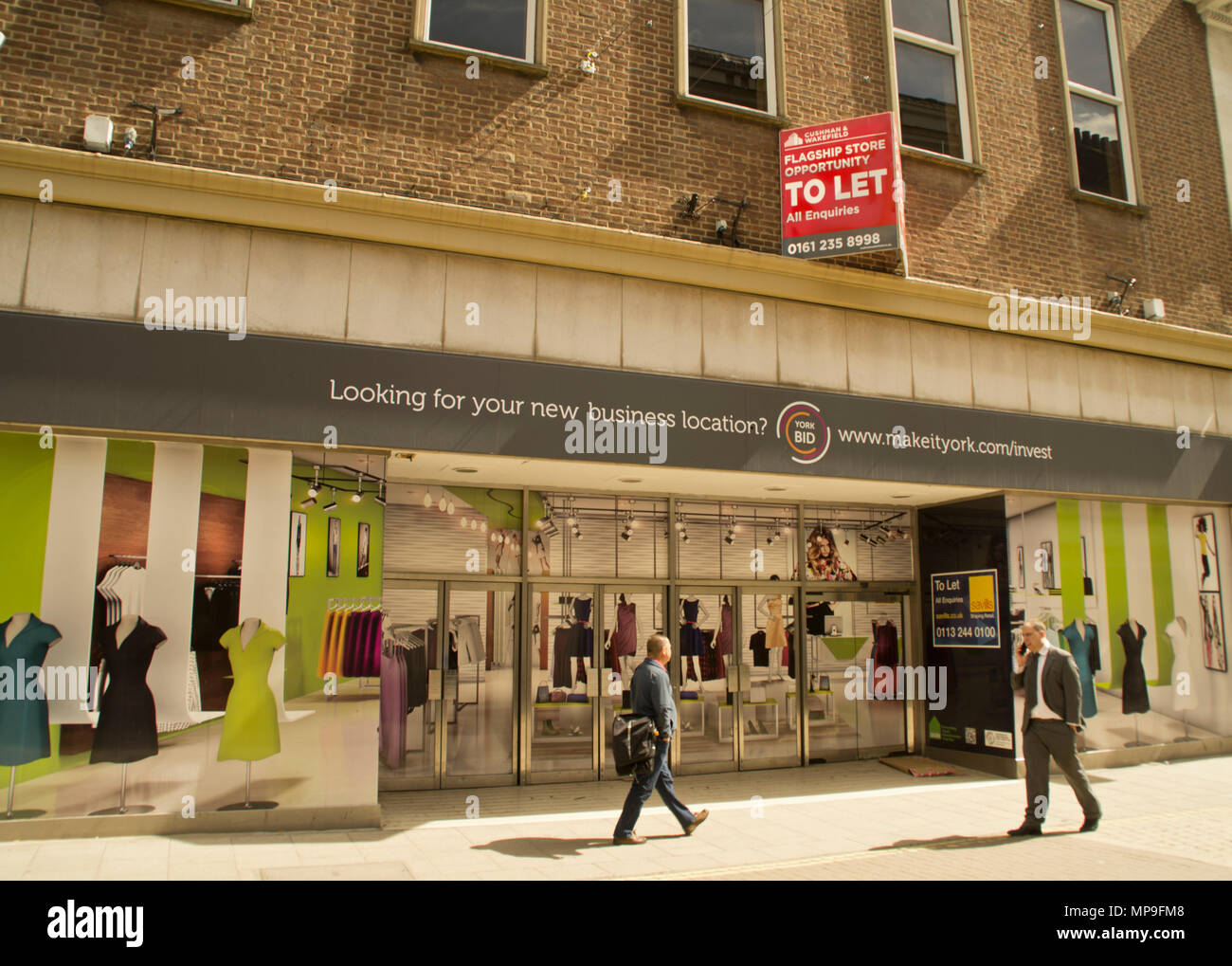 Former British Homes Store York - Stock Image