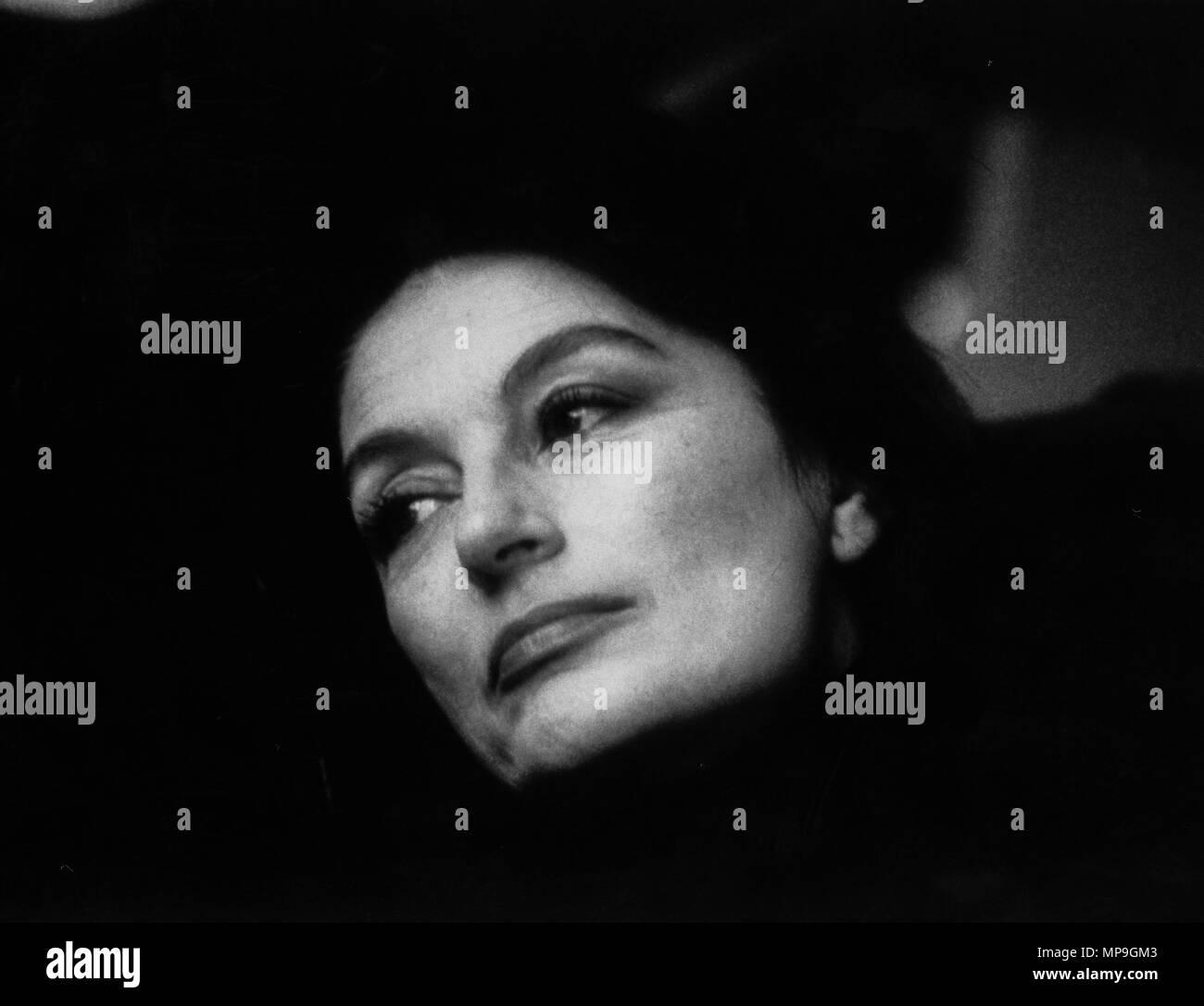 anouk aimee, un uomo una donna oggi, 1986 - Stock Image