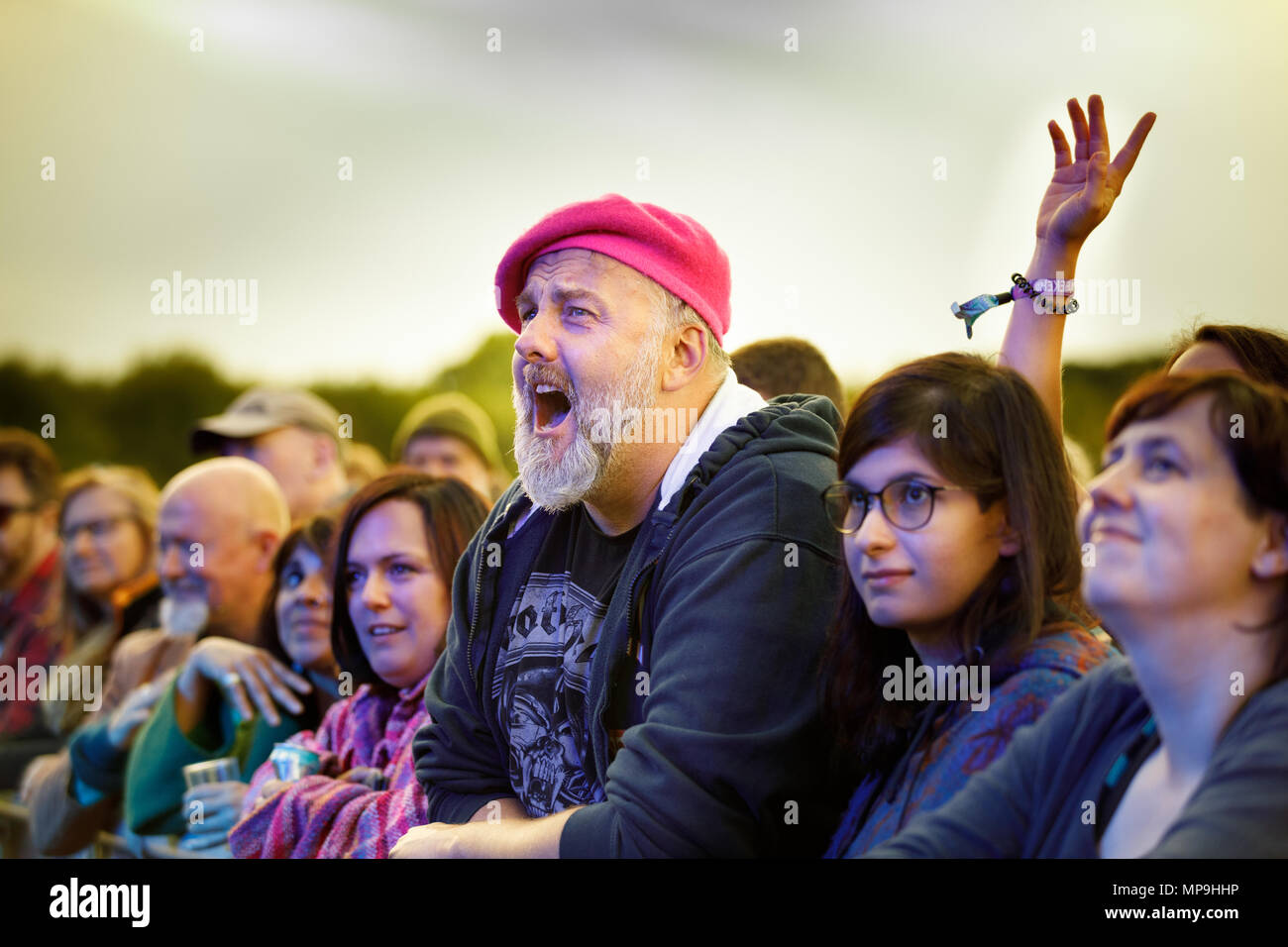 the end of the road festival 2017 - Stock Image
