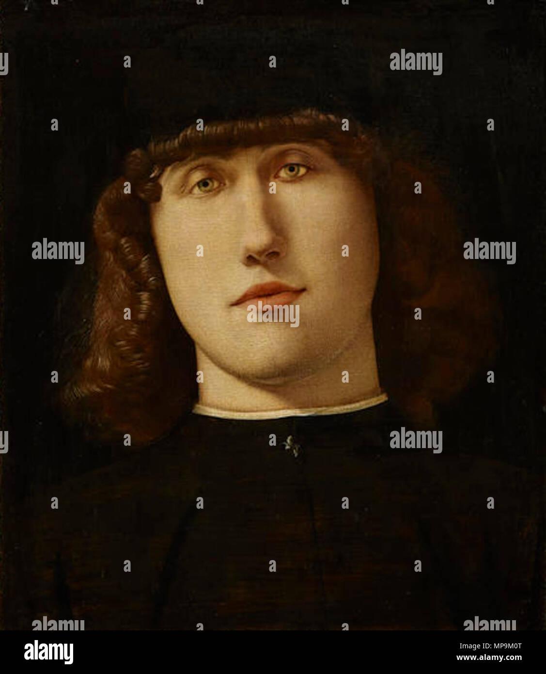 . Young Man . 1500.   Lorenzo Lotto (1480–)   Description Italian painter and fresco painter  Date of birth/death circa 1480 1556 / 1557  Location of birth/death Venice Loreto  Work location Recanati (1506-1508), Venice (1500), Treviso (1503-1506), Rome (1509-1512), Bergamo (1513-1525), Venice (1513-1517), Treviso (1525-1527), Venice (1527-1529), Loreto, Venice (1529-1539), Treviso (1540-1549), Ancona (1549), Loreto (1556)  Authority control  : Q310973 VIAF:22165049 ISNI:0000 0001 2320 0265 ULAN:500015631 LCCN:n50042418 NLA:35692463 WorldCat 819 Lorenzo Lotto - Young Man - Stock Image