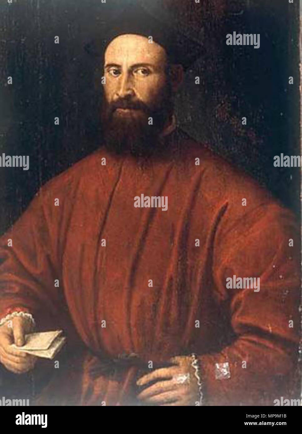 . A man with letter . circa 1508/12.   Lorenzo Lotto (1480–)   Description Italian painter and fresco painter  Date of birth/death circa 1480 1556 / 1557  Location of birth/death Venice Loreto  Work location Recanati (1506-1508), Venice (1500), Treviso (1503-1506), Rome (1509-1512), Bergamo (1513-1525), Venice (1513-1517), Treviso (1525-1527), Venice (1527-1529), Loreto, Venice (1529-1539), Treviso (1540-1549), Ancona (1549), Loreto (1556)  Authority control  : Q310973 VIAF:22165049 ISNI:0000 0001 2320 0265 ULAN:500015631 LCCN:n50042418 NLA:35692463 WorldCat 820 Lorenzo Lotto 088 - Stock Image