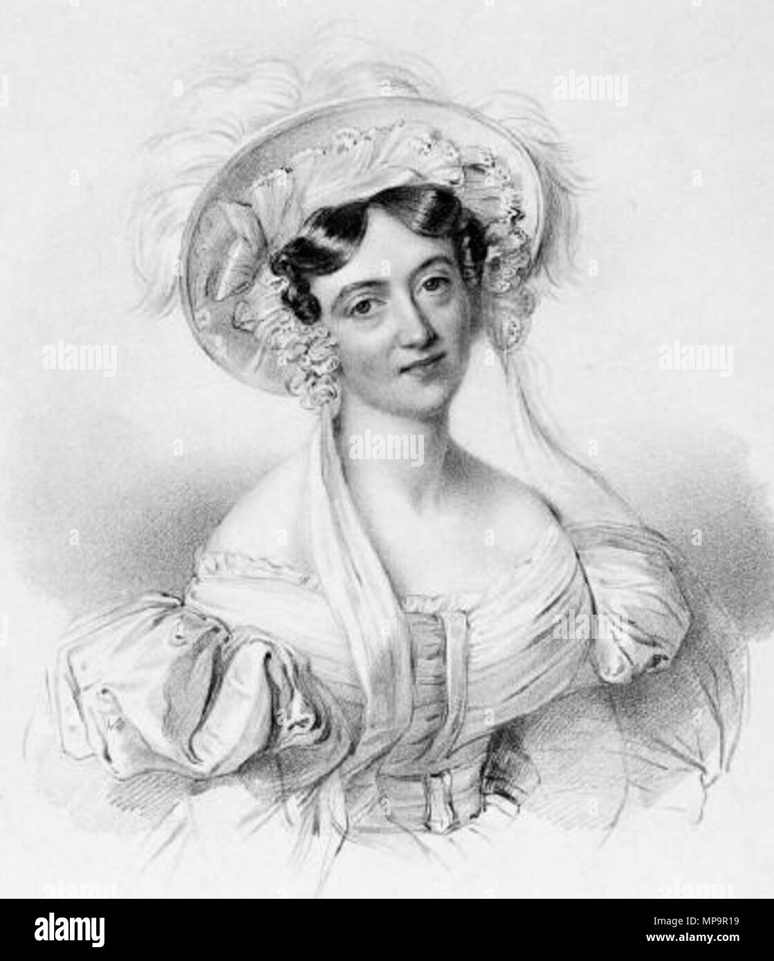 . English: English pianist Lucy Anderson (1797-1878) by Richard James Lane (1800-1872) after Johannes Notz (1802-1862) . 1833.   Richard James Lane (1800–1872)   Alternative names Richard J. Lane  Description English engraver and lithographer  Date of birth/death 16 February 1800 21 November 1872  Location of birth Berkeley Castle  Authority control  : Q7326816 VIAF:59348682 ISNI:0000 0000 6658 4871 ULAN:500120153 LCCN:n81054202 SUDOC:119740117 WorldCat    after Johannes Notz. Publisher: J. Dickinson, London. 831 Lucy Anderson by Richard James Lane - Stock Image