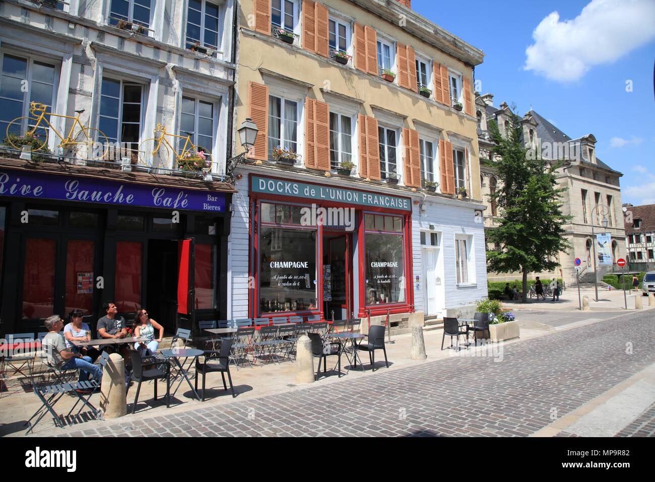 Restaurant Rive Gauche Cafe Troyes
