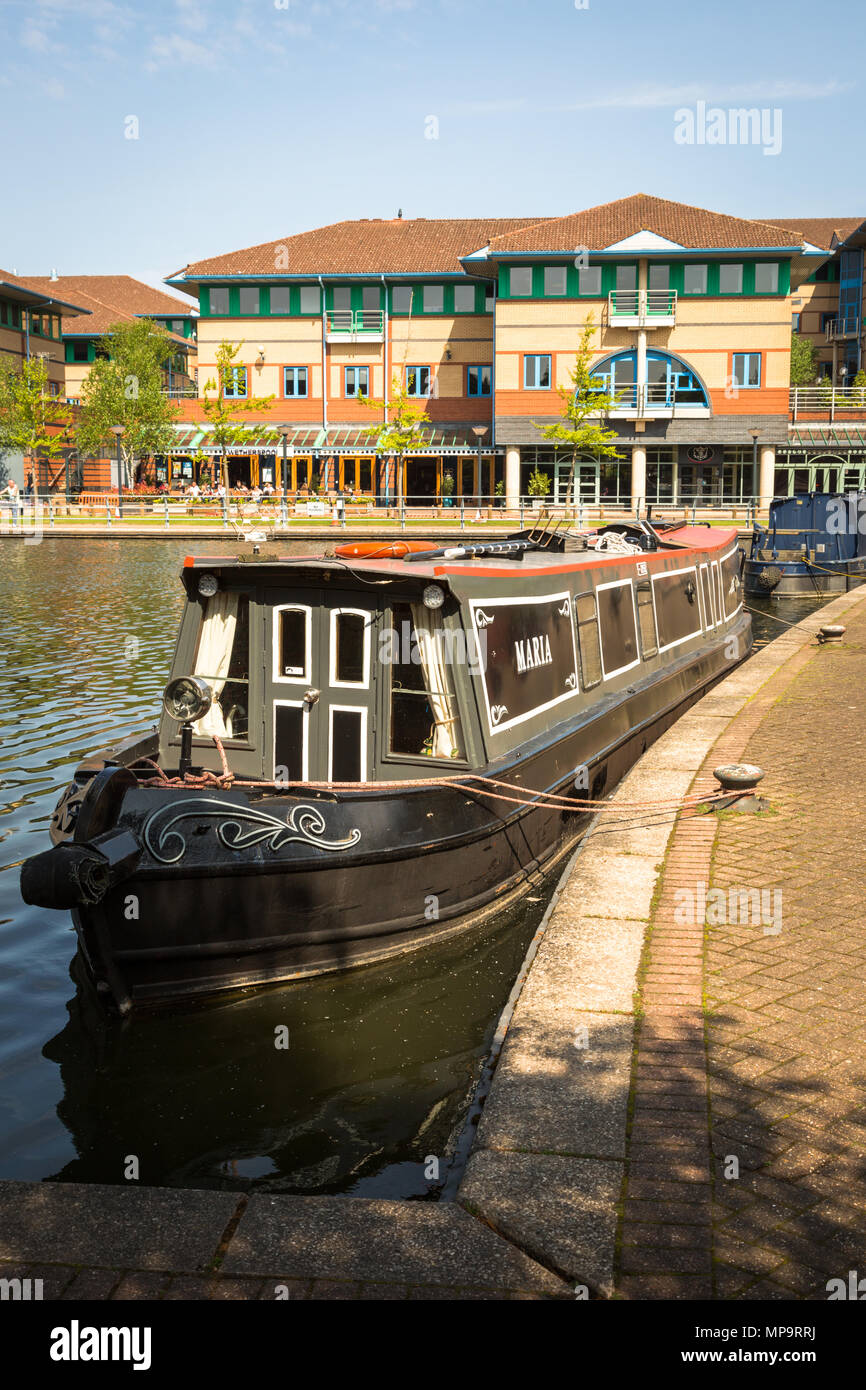 Office buildings on The Waterfront at Brierley Hill, West Midlands UK - Stock Image