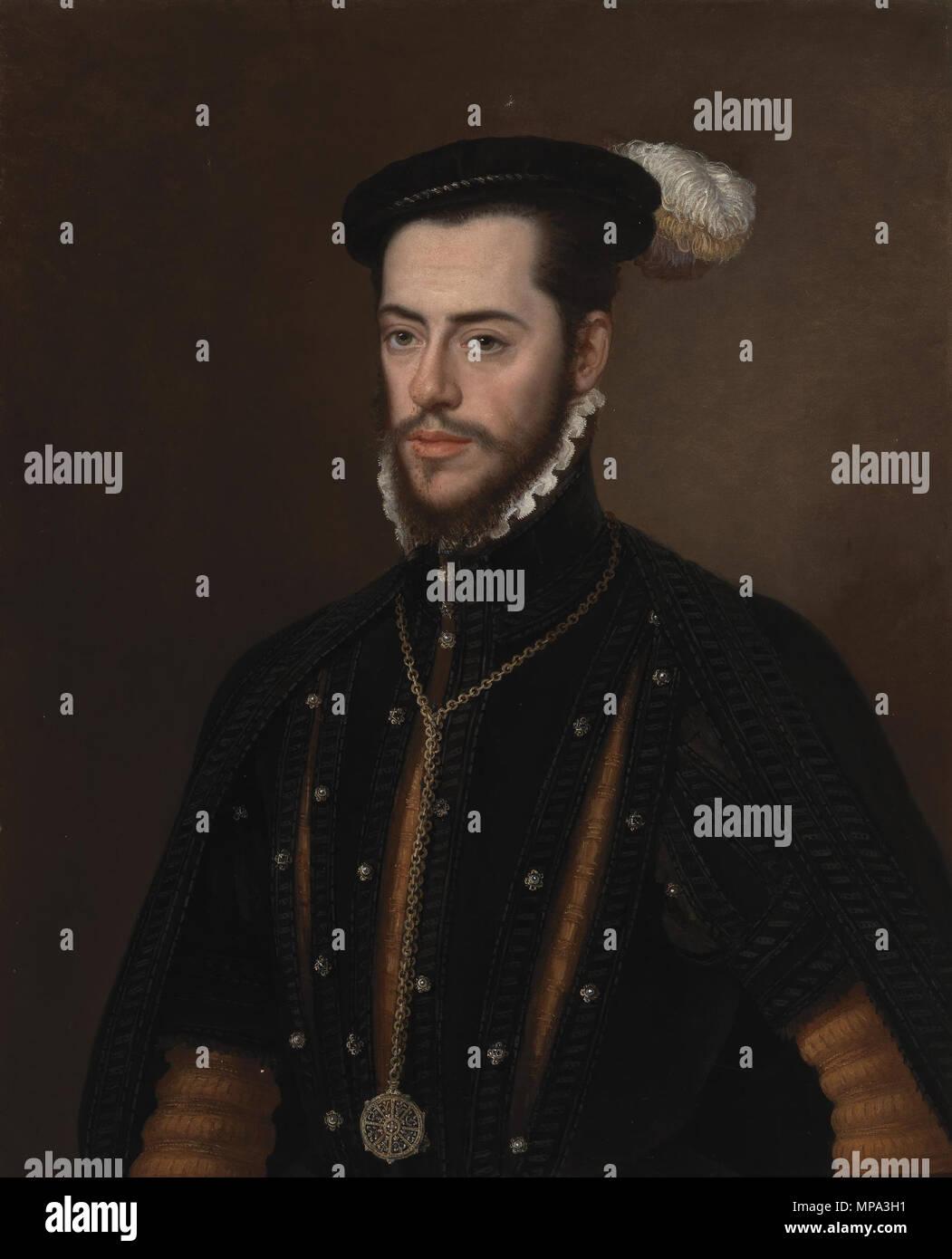 866 Martín Gurrea de Aragón, duque de Villahermosa y conde de Ribagorza (Museo del Prado) - Stock Image