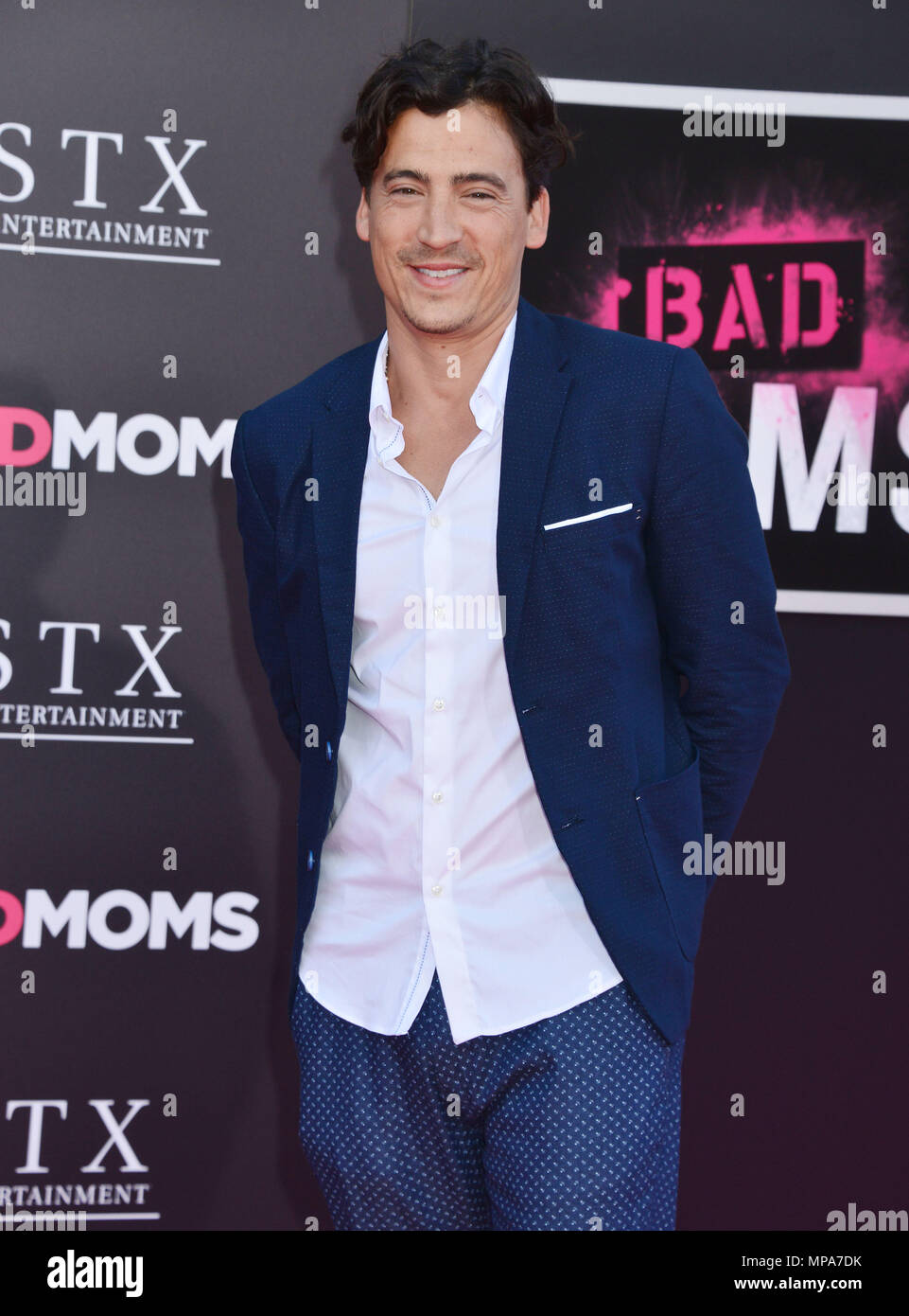 Andrew Keegan at the Bad Moms Premiere at the Westwood