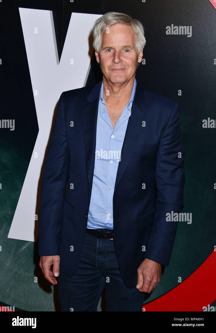 Chris Cater  at The X-Files Premiere at California Science Center in Los Angeles, CA  January 12, 2016.Chris Cater ------------- Red Carpet Event, Vertical, USA, Film Industry, Celebrities,  Photography, Bestof, Arts Culture and Entertainment, Topix Celebrities fashion /  Vertical, Best of, Event in Hollywood Life - California,  Red Carpet and backstage, USA, Film Industry, Celebrities,  movie celebrities, TV celebrities, Music celebrities, Photography, Bestof, Arts Culture and Entertainment,  Topix, Three Quarters, vertical, one person,, from the year , 2016, inquiry tsuni@Gamma-USA.com - Stock Image