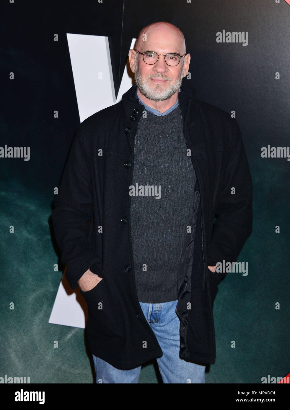 Mitch Pileggi 049  at The X-Files Premiere at California Science Center in Los Angeles, CA  January 12, 2016.Mitch Pileggi 049 ------------- Red Carpet Event, Vertical, USA, Film Industry, Celebrities,  Photography, Bestof, Arts Culture and Entertainment, Topix Celebrities fashion /  Vertical, Best of, Event in Hollywood Life - California,  Red Carpet and backstage, USA, Film Industry, Celebrities,  movie celebrities, TV celebrities, Music celebrities, Photography, Bestof, Arts Culture and Entertainment,  Topix, Three Quarters, vertical, one person,, from the year , 2016, inquiry tsuni@Gamma-U - Stock Image