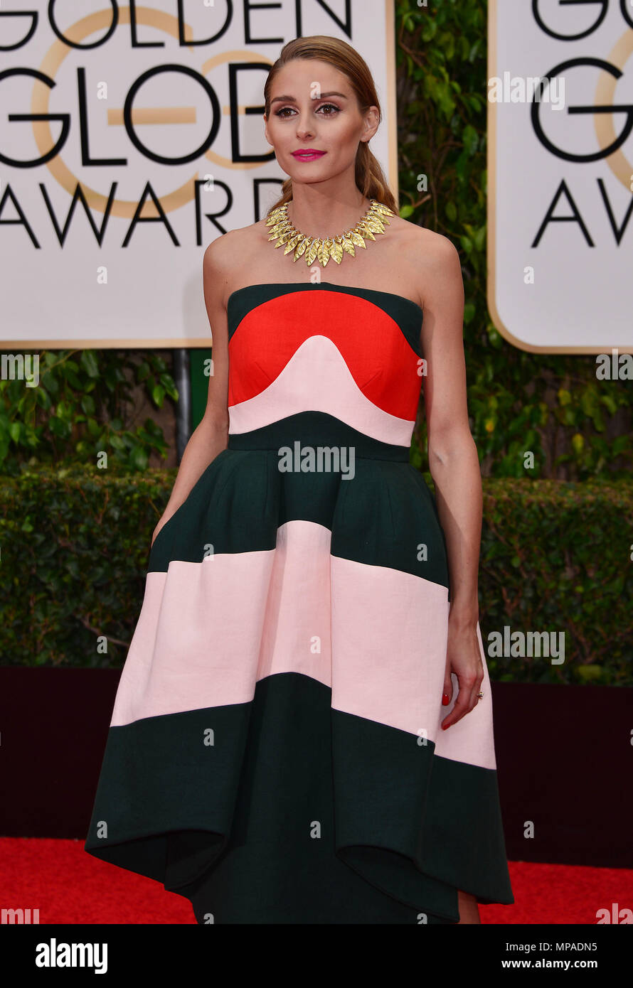 778ffe37f5 Olivia Palermo 468 at the 2016 Golden Globe Awards at the Beverly Hilton in  Los Angeles