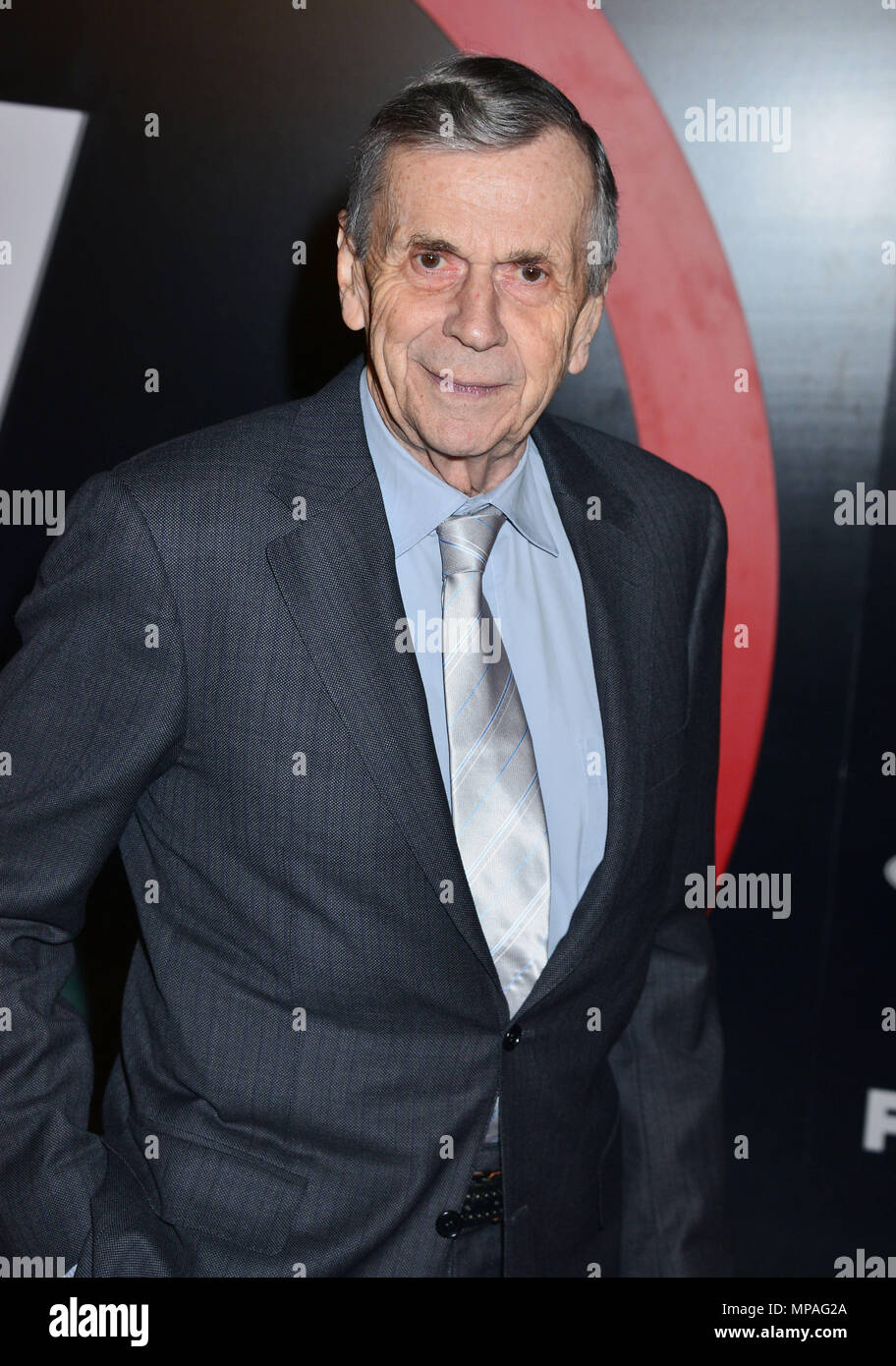 William B. Davis  at The X-Files Premiere at California Science Center in Los Angeles, CA  January 12, 2016.William B. Davis 064 ------------- Red Carpet Event, Vertical, USA, Film Industry, Celebrities,  Photography, Bestof, Arts Culture and Entertainment, Topix Celebrities fashion /  Vertical, Best of, Event in Hollywood Life - California,  Red Carpet and backstage, USA, Film Industry, Celebrities,  movie celebrities, TV celebrities, Music celebrities, Photography, Bestof, Arts Culture and Entertainment,  Topix, Three Quarters, vertical, one person,, from the year , 2016, inquiry tsuni@Gamma - Stock Image