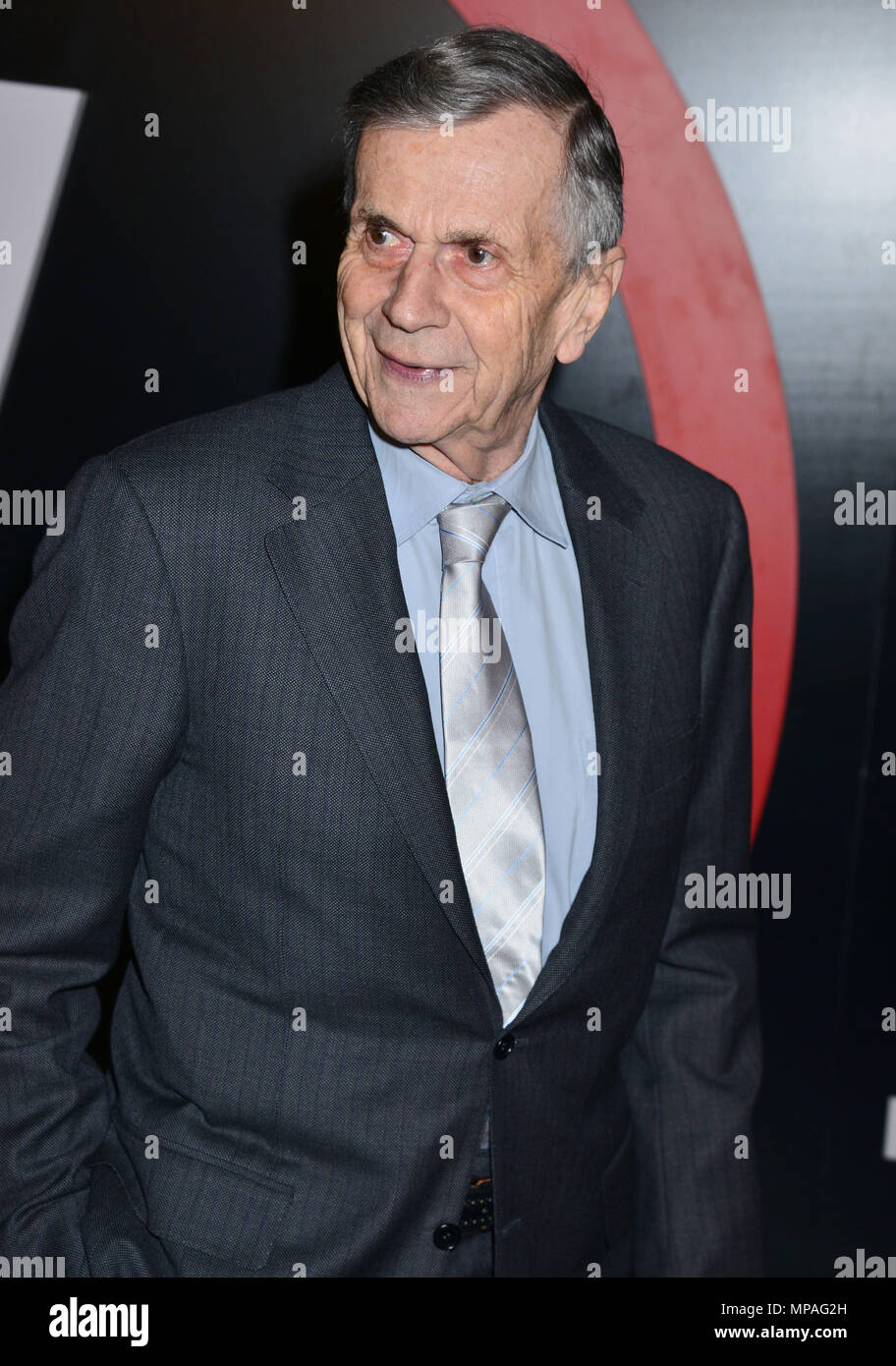 William B. Davis  at The X-Files Premiere at California Science Center in Los Angeles, CA  January 12, 2016.William B. Davis ------------- Red Carpet Event, Vertical, USA, Film Industry, Celebrities,  Photography, Bestof, Arts Culture and Entertainment, Topix Celebrities fashion /  Vertical, Best of, Event in Hollywood Life - California,  Red Carpet and backstage, USA, Film Industry, Celebrities,  movie celebrities, TV celebrities, Music celebrities, Photography, Bestof, Arts Culture and Entertainment,  Topix, Three Quarters, vertical, one person,, from the year , 2016, inquiry tsuni@Gamma-USA - Stock Image