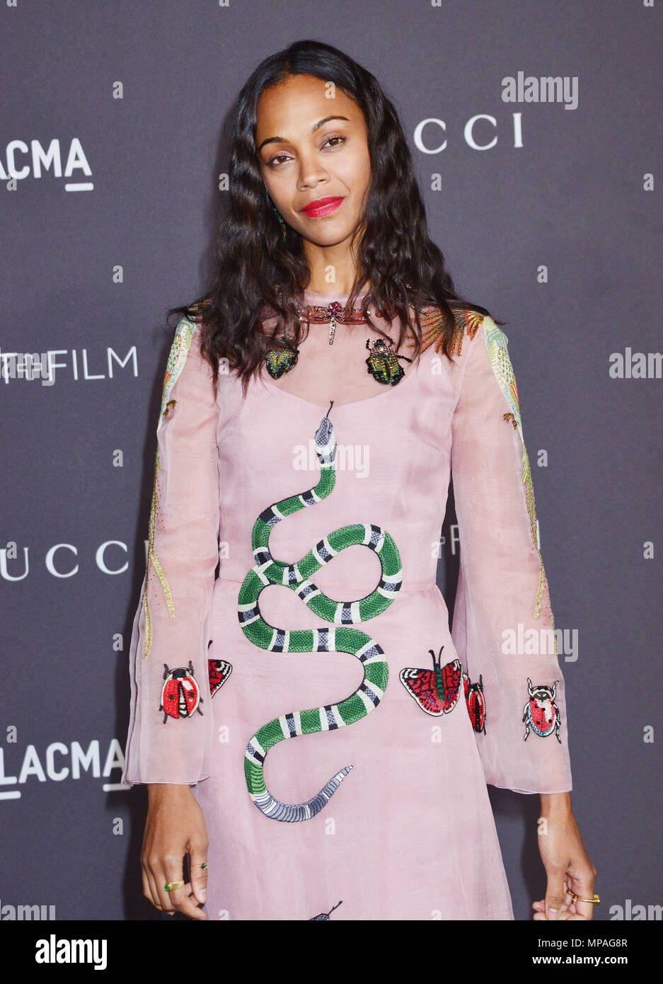 Zoe Saldana 024 at the 2016 LACMA Art + Film Gala Honoring