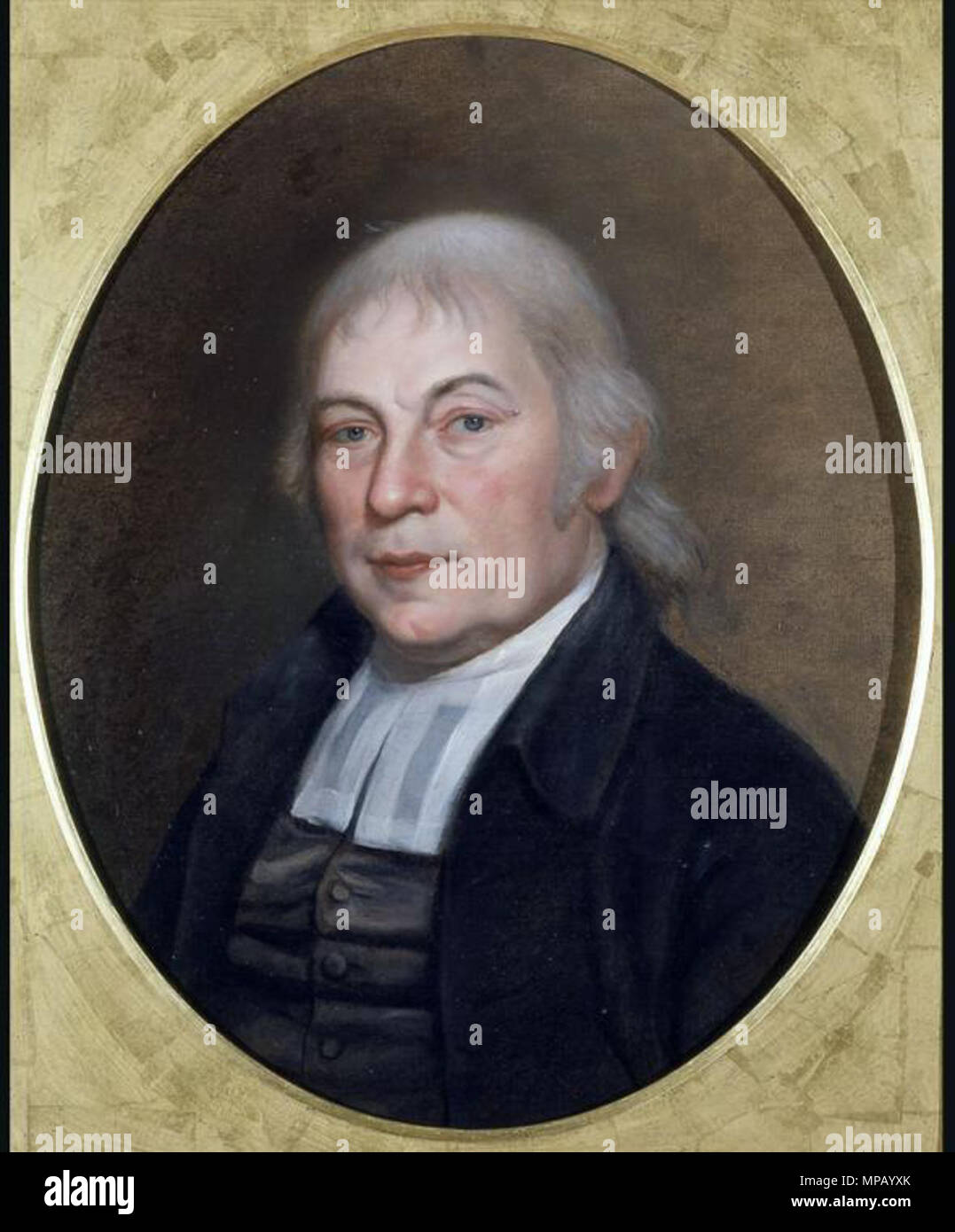 .  English: Portrait of w:en:Gotthilf Heinrich Ernst Muhlenberg . 1810.    Charles Willson Peale  (1741–1827)     Description American portrait painter  Date of birth/death 15 April 1741 22 February 1827  Location of birth/death St. Paul's Parish, Maryland Philadelphia  Work location Deutsch: Nordamerikanische Ostküste English: East coast of North America  Authority control  : Q454945 VIAF: 72190360 ISNI: 0000 0000 8262 3463 ULAN: 500017914 LCCN: n80025860 NLA: 35413732 WorldCat 911 MuhlenbergGotthilf - Stock Image