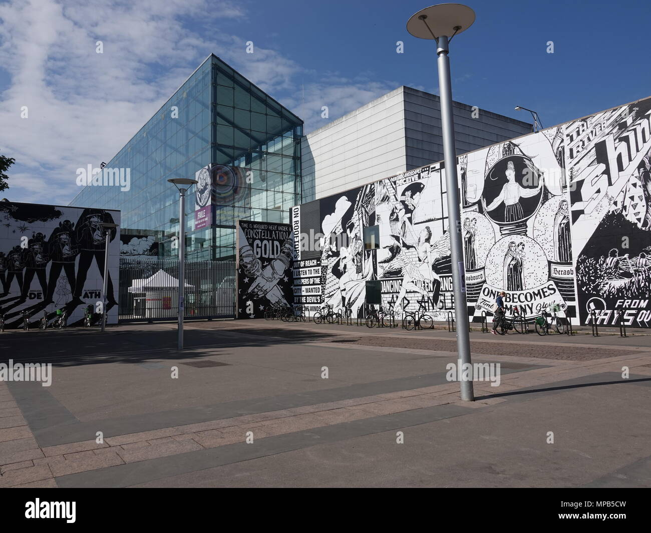 Strasbourg Museum of Modern and Contemporary Art, Strasbourg, France - Stock Image
