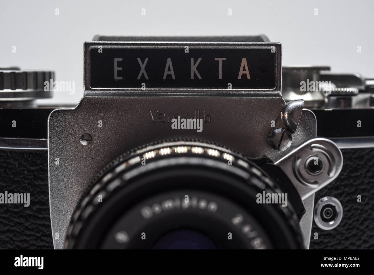 Vintage cameras from Russia and Germany - Stock Image