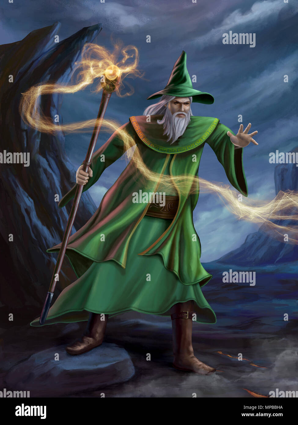 Spell Casting High Resolution Stock Photography and Images - Alamy
