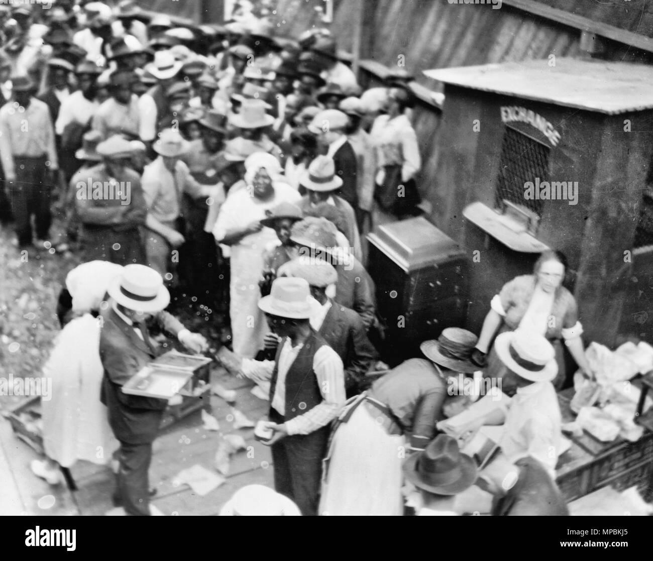 Tulsa, Oklahoma, race riot, June 1, 1921 - Stock Image