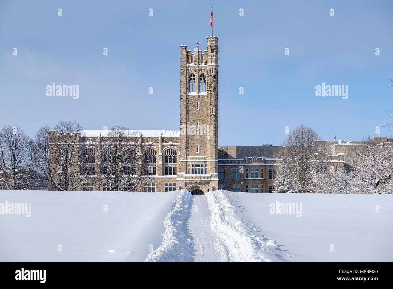 Western University Canada >> University College Building At Western University After A