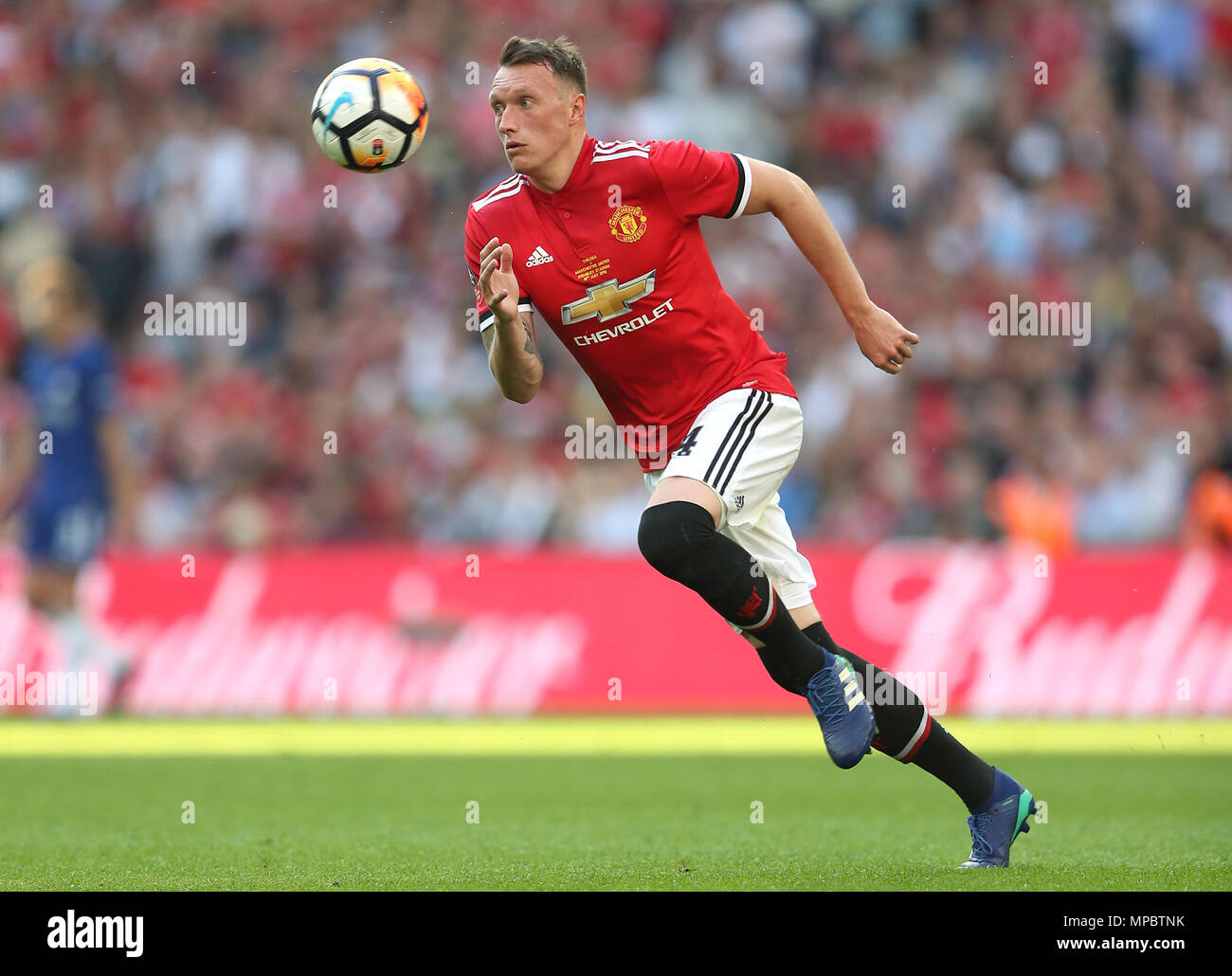 Manchester United's Phil Jones Stock Photo
