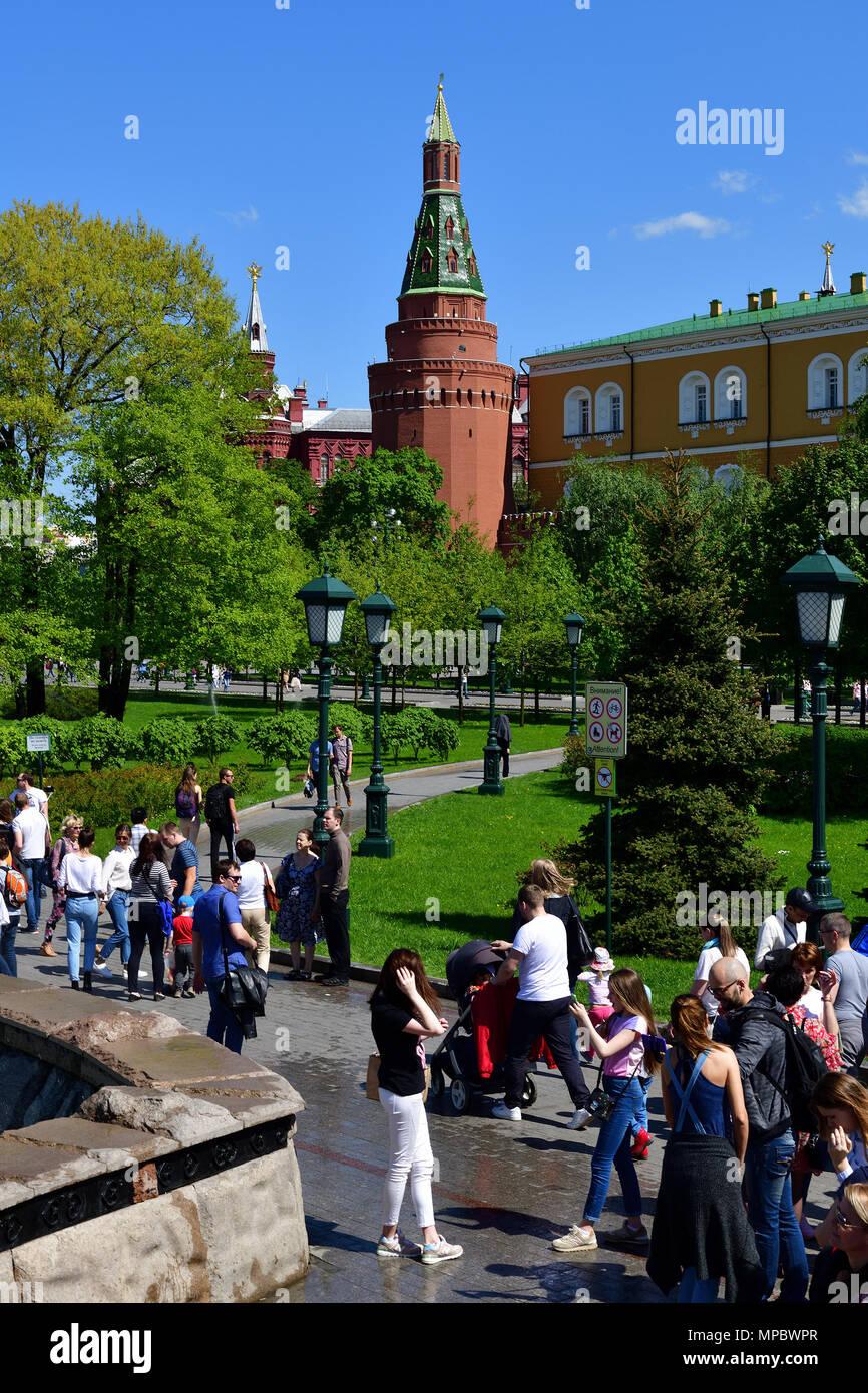 Alexander Garden: a green corner of the capital 43