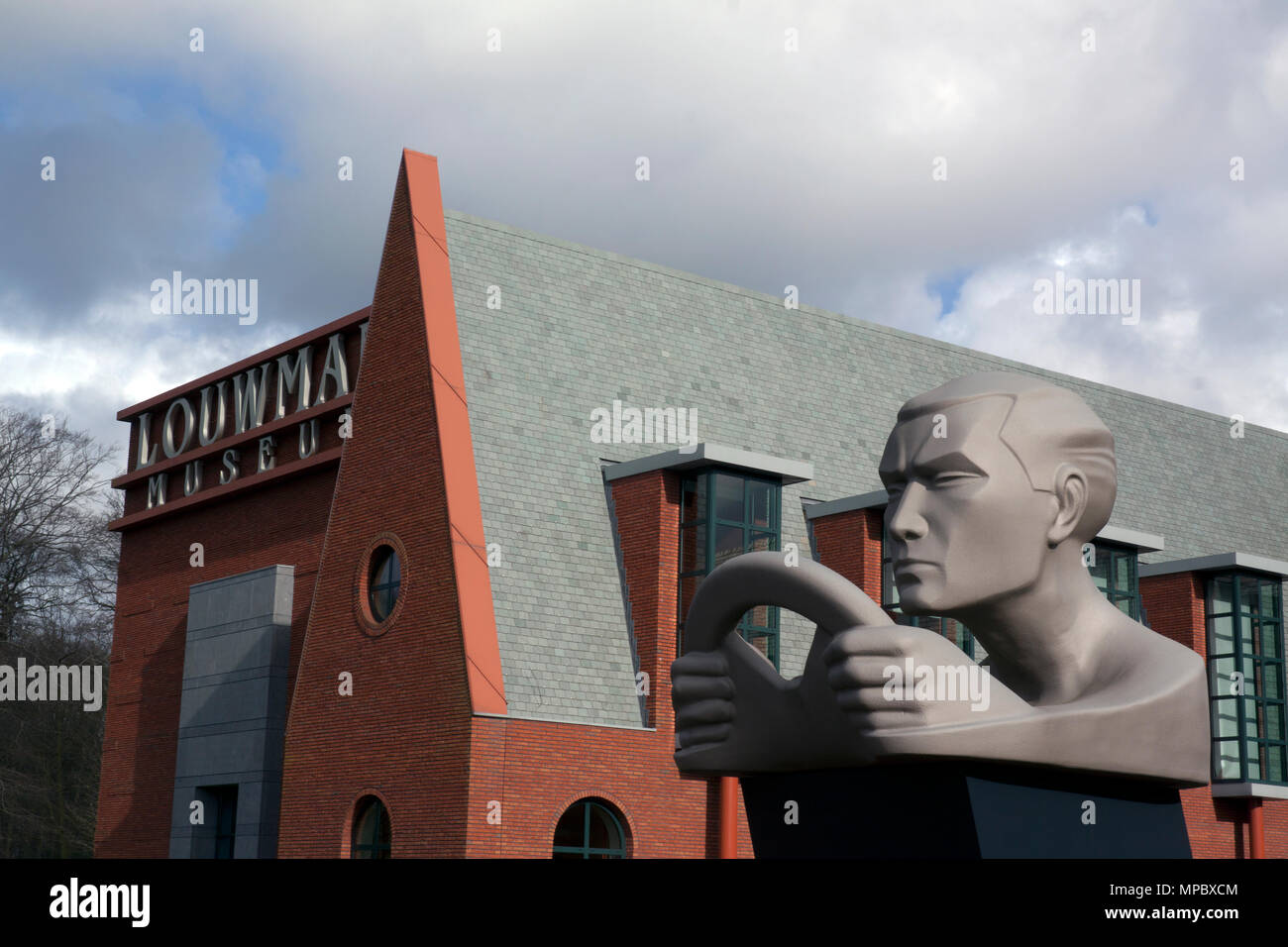 the Hague,The Netherlands-march 27 , 2015:  The Louwman Museum is home to the world oldest private collection classic cars located in the Hague, Holla Stock Photo