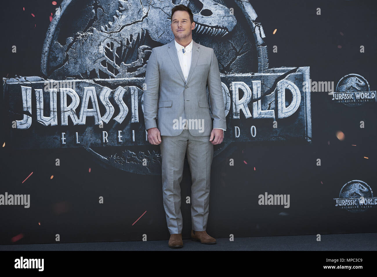 Madrid, Madrid, Spain. 22nd May, 2018. Chris Pratt attends \'Jurassic ...