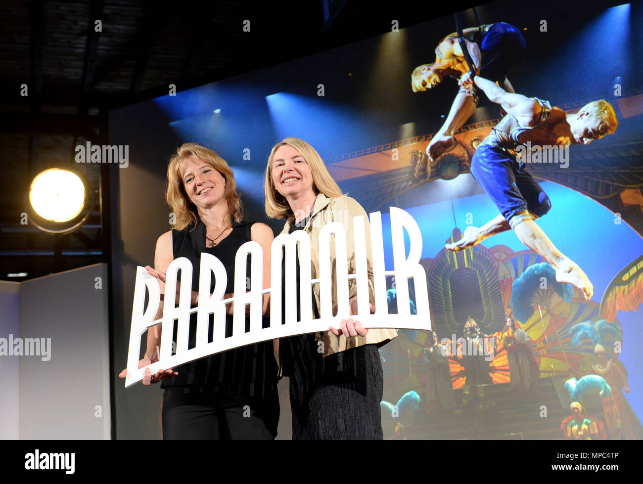 22 May 2018 Germany Hamburg Uschi Neuss L Ceo Of Stage