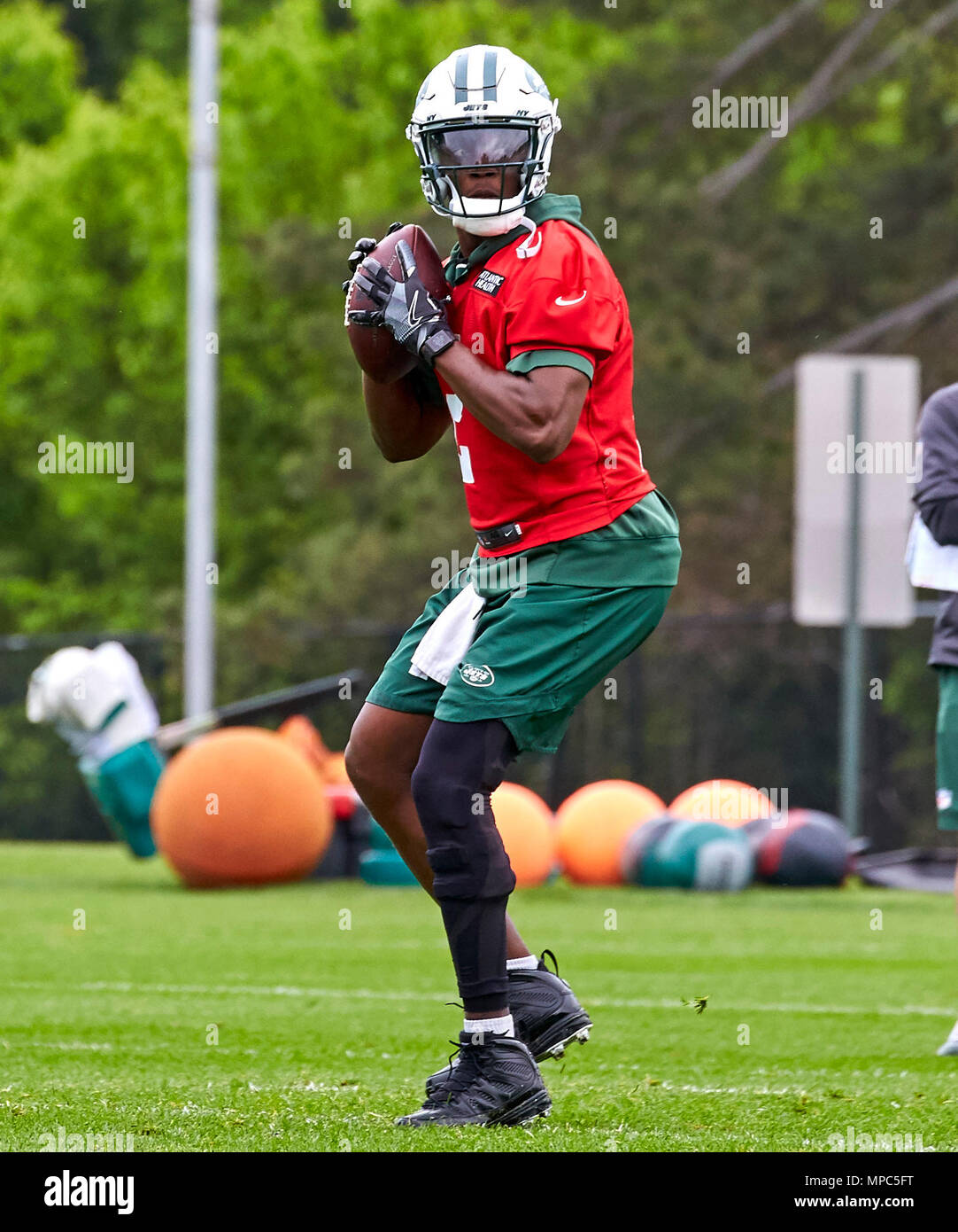 pretty nice 09346 6d3f9 Florham Park, New Jersey, USA. 22nd May, 2018. New York Jets ...