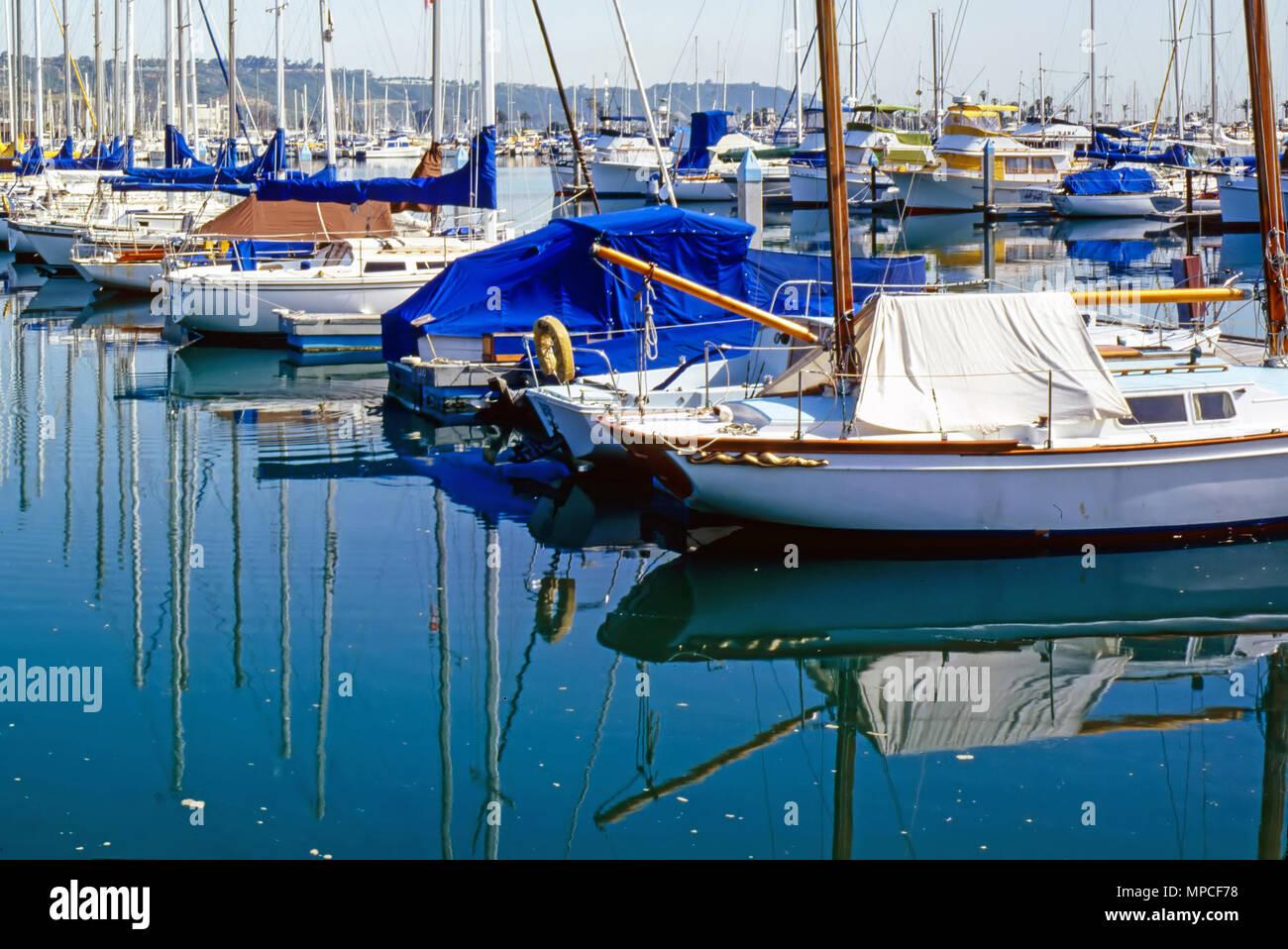 Marina in Dana Point, California - Stock Image