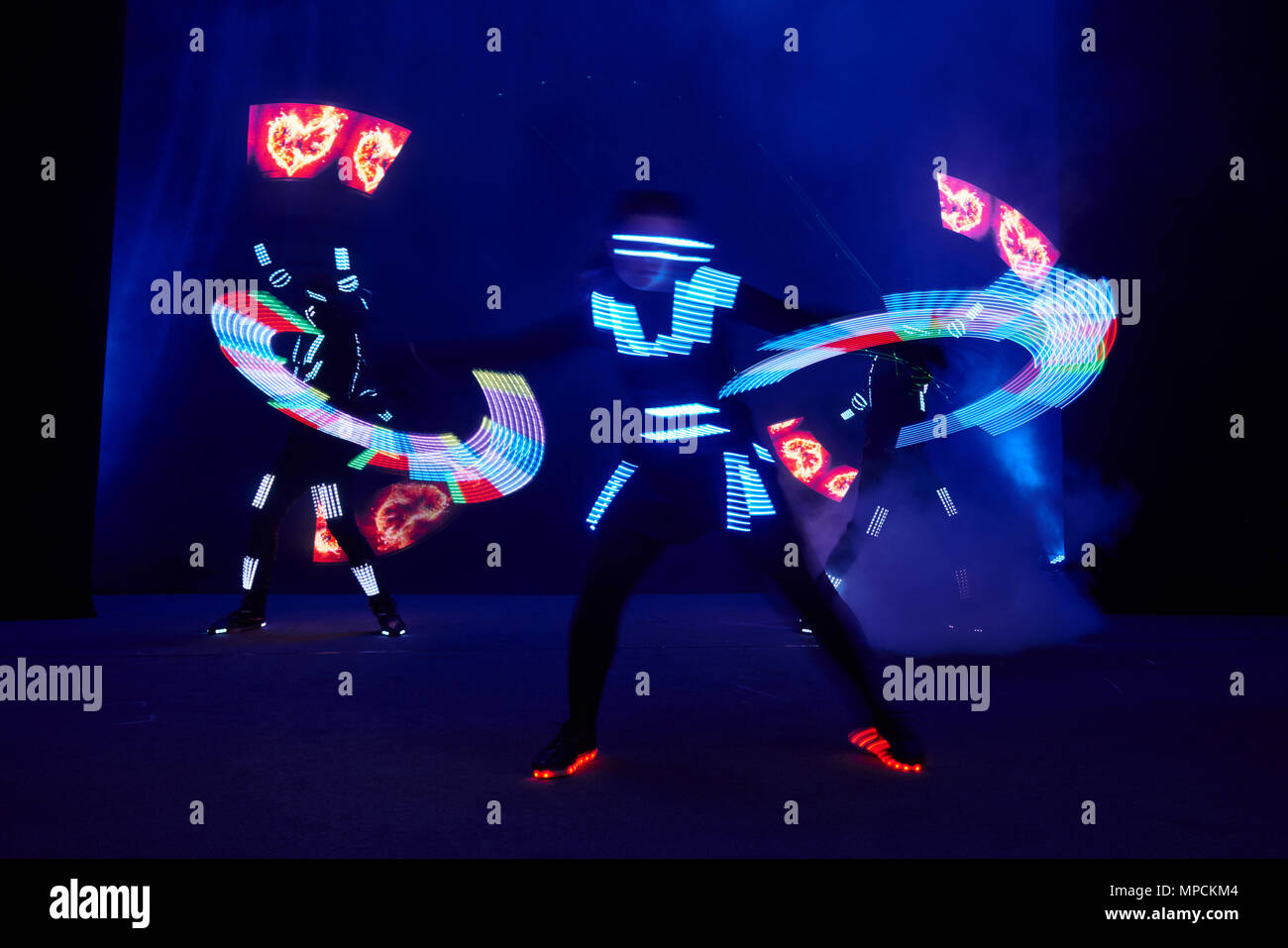 Show With LampVery In Suits Led PerformanceDancers Laser ZuiPXk