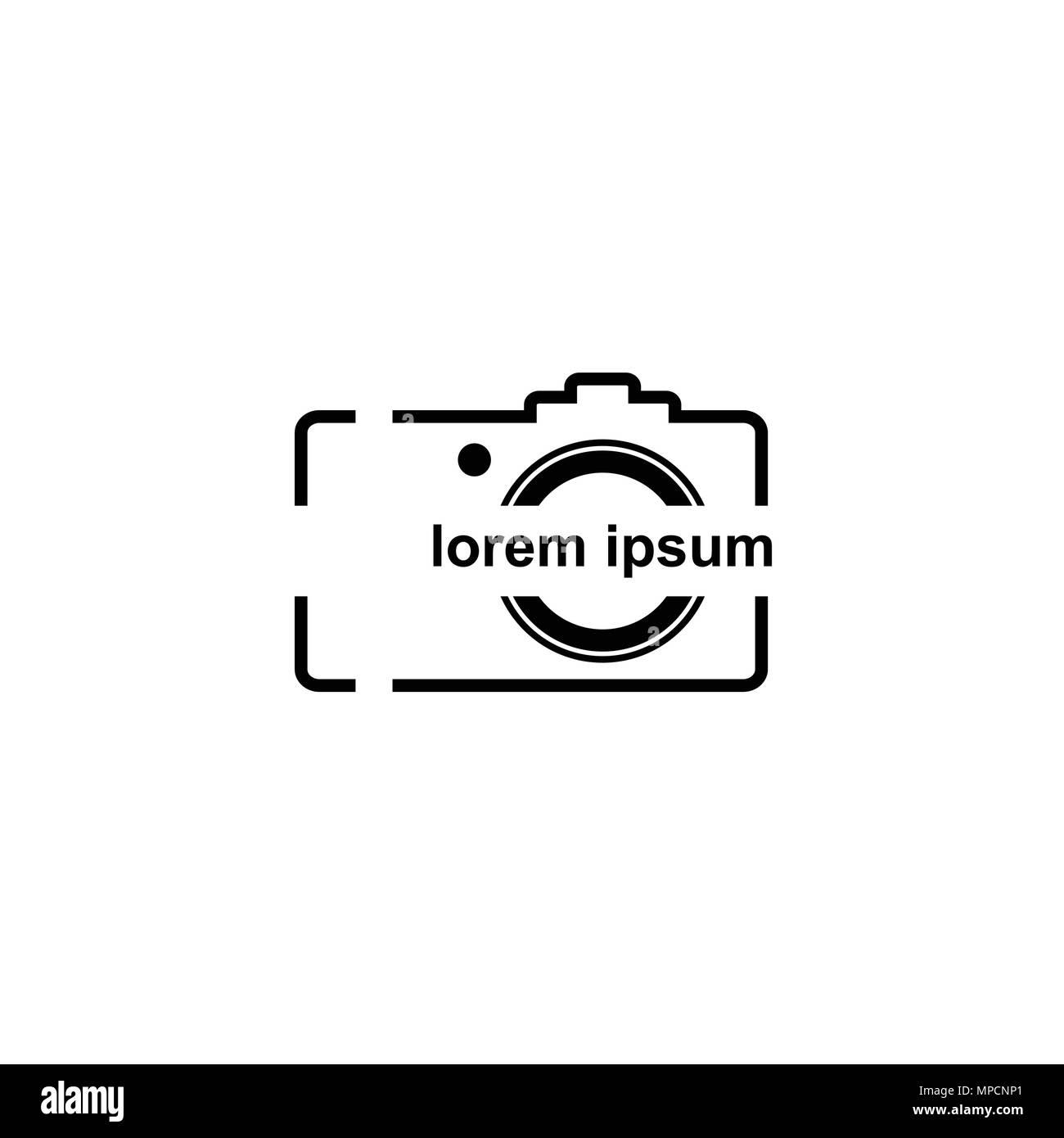 Camera Logo Design Photograph Logo Vector Icons Stock Vector Image Art Alamy