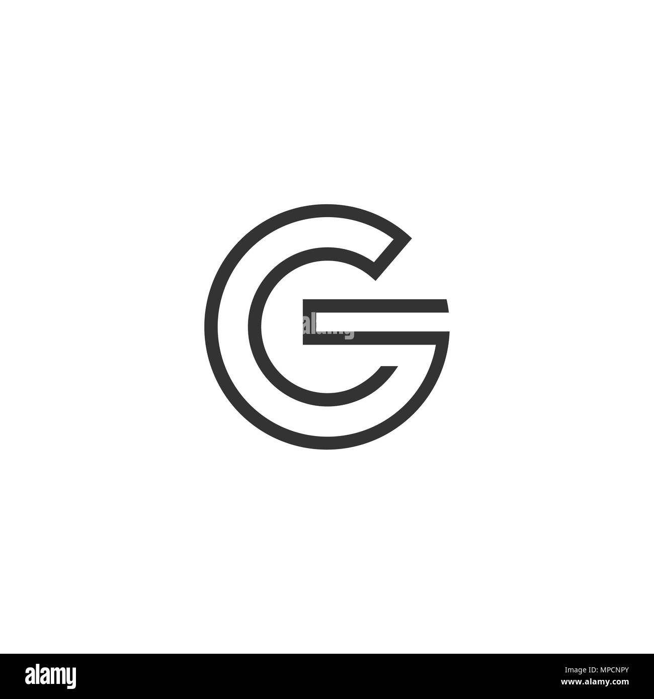 letter g logo high resolution stock photography and images alamy https www alamy com letter g logo circle line style image185906643 html