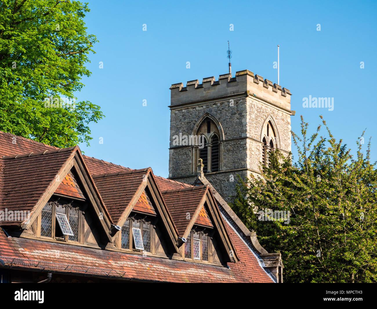 St Giles Church, Oxford, Oxfordshire, England, UK, GB. Stock Photo