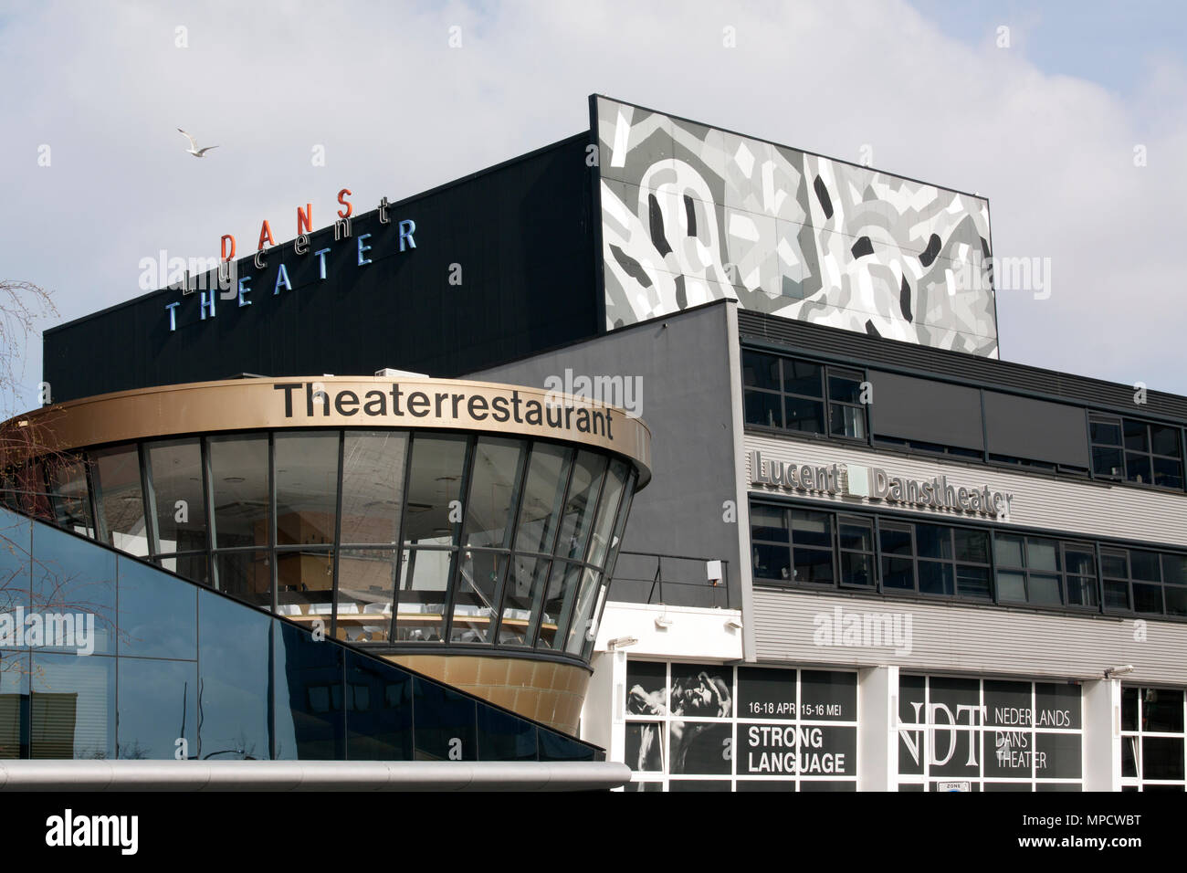 Den Haag ,Nederland-april 8, 2015: The Lucent Dance Theatre is home to the Dutch dance partnership Dance Theatre - Stock Image