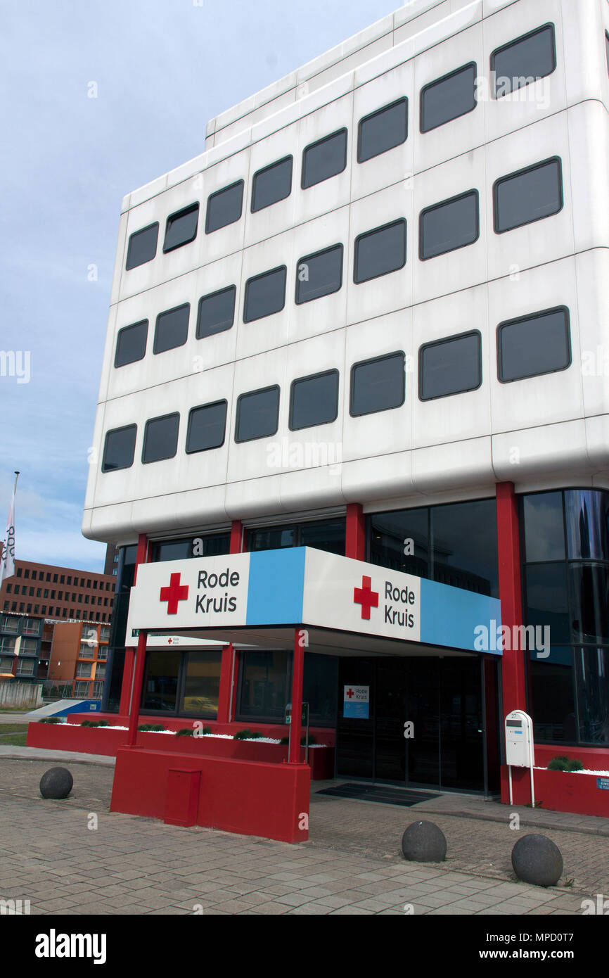 The Hague, Netherlands-march 30-2015: The Red Cross is a global humanitarian organization Stock Photo