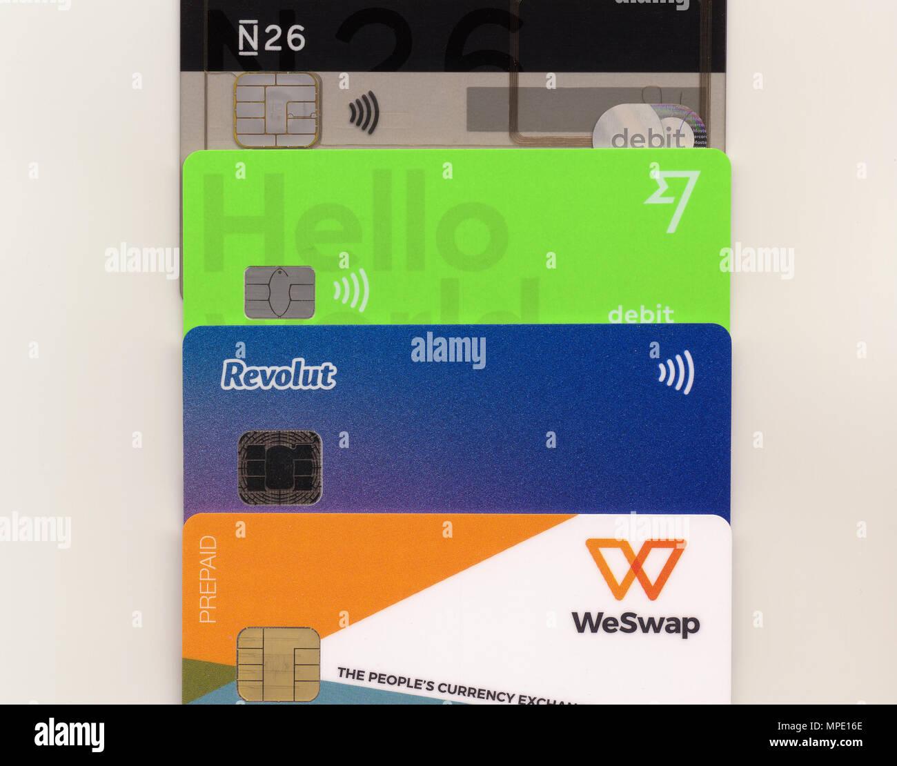 Transferwise Card Stock Photos & Transferwise Card Stock