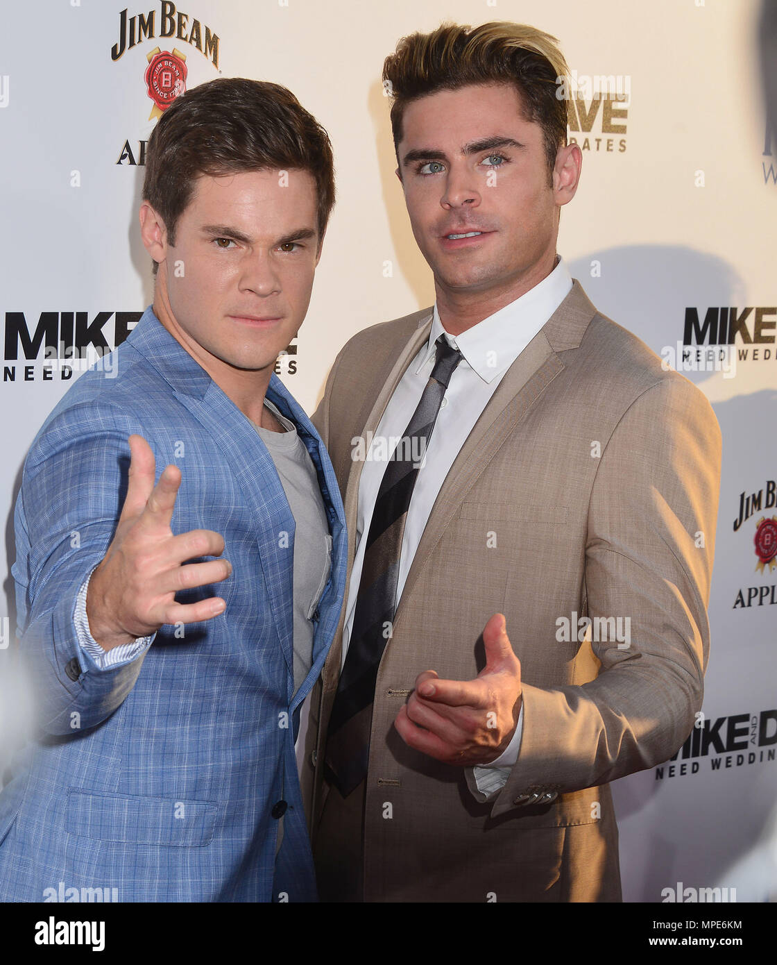 Adam Devine Zac Efron 023 At The Mike Dave Need Wedding Dates A