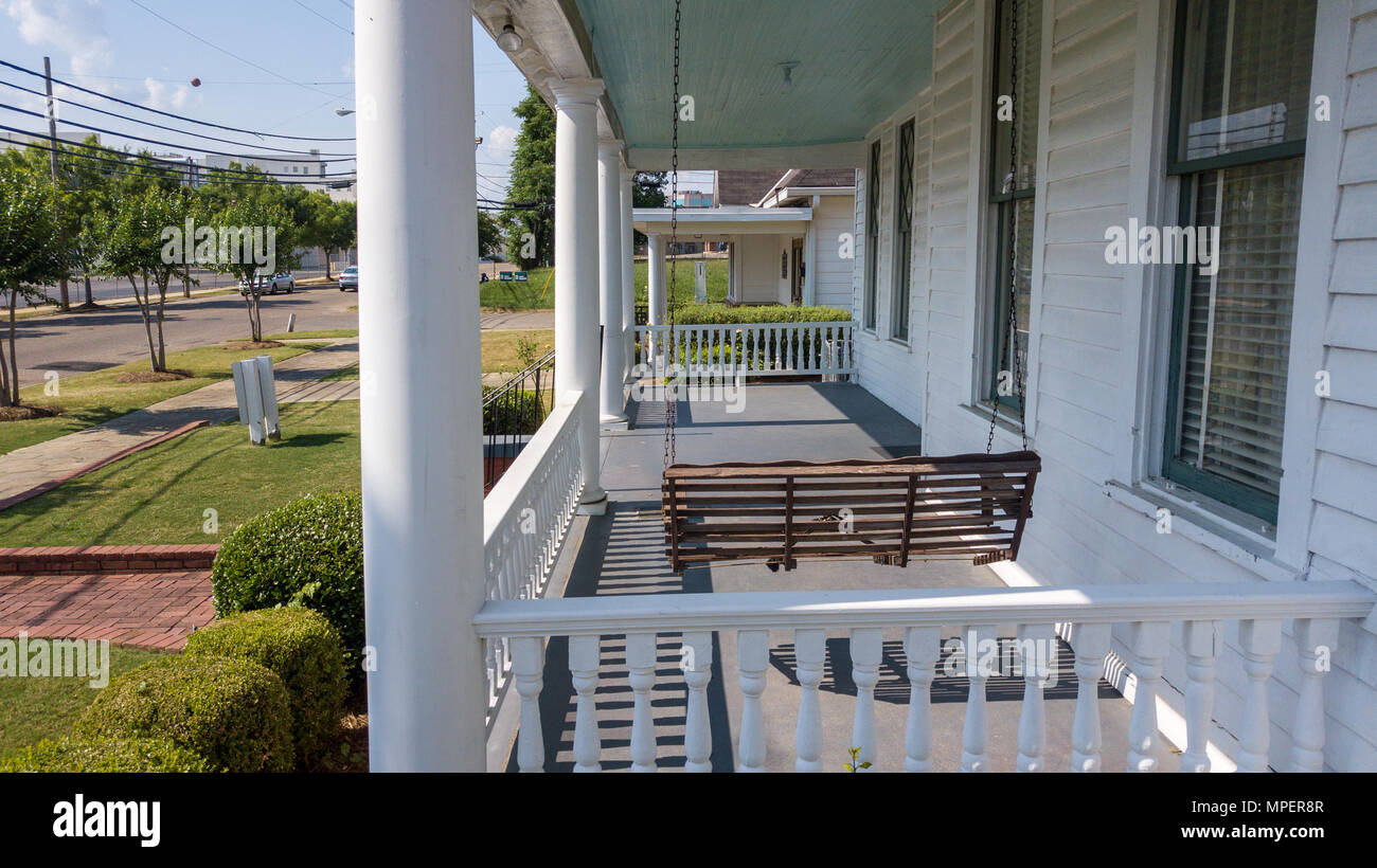 Dexter Parsonage Museum, where Martin Luther King, Jr. lived in the 1950s, Montgomery, Alabama, USA - Stock Image