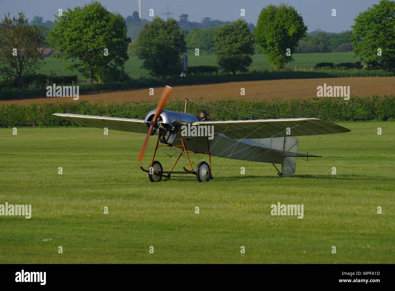 Bristol Monoplane - Stock Image