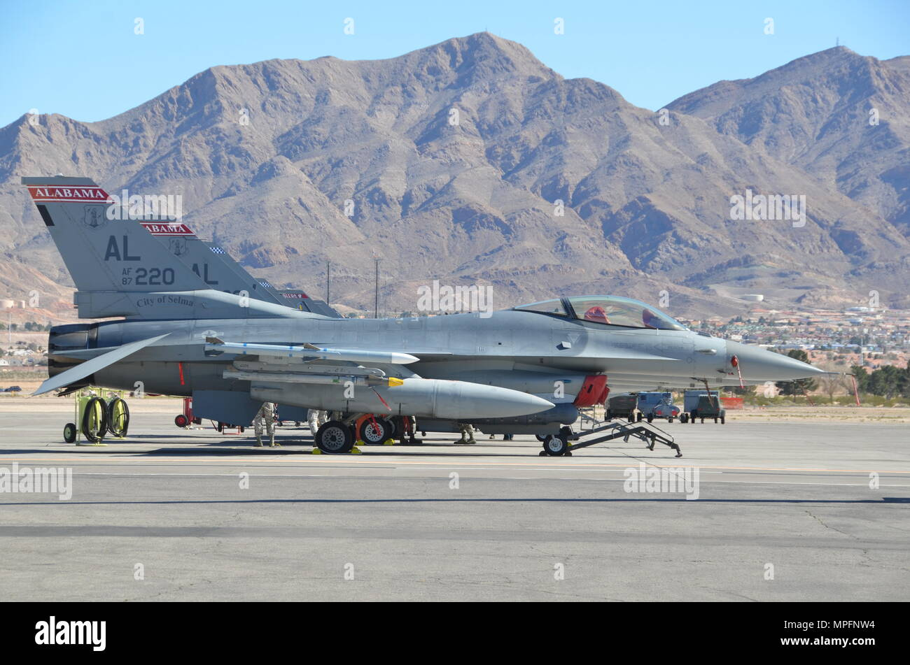U S  Air Force F-16 Fighting Falcons, 187th Fighter Wing
