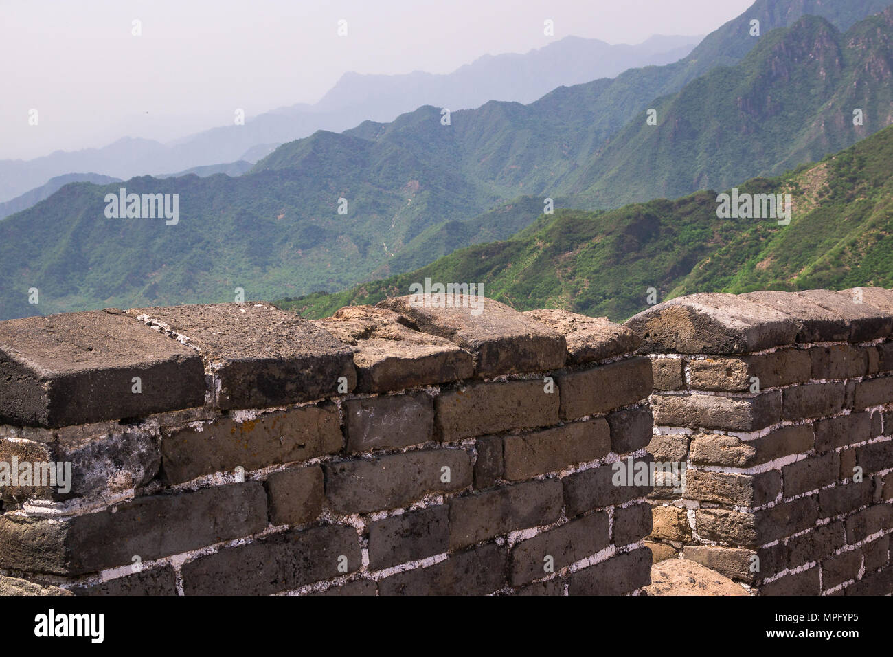 The Great Wall of China - Stock Image
