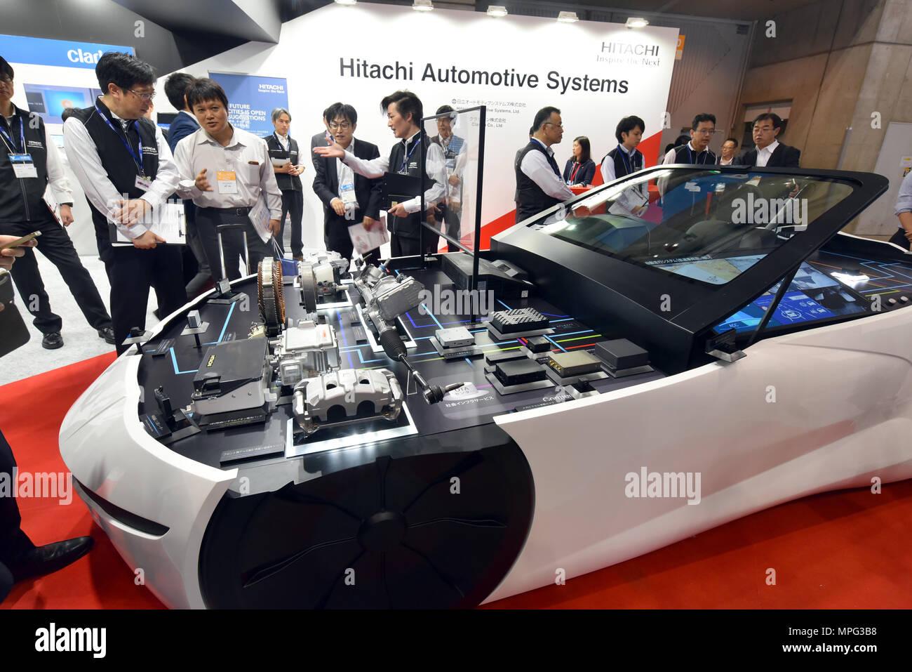 Yokohama, Japan. 23rd May, 2018. The Automotive Engineering ...