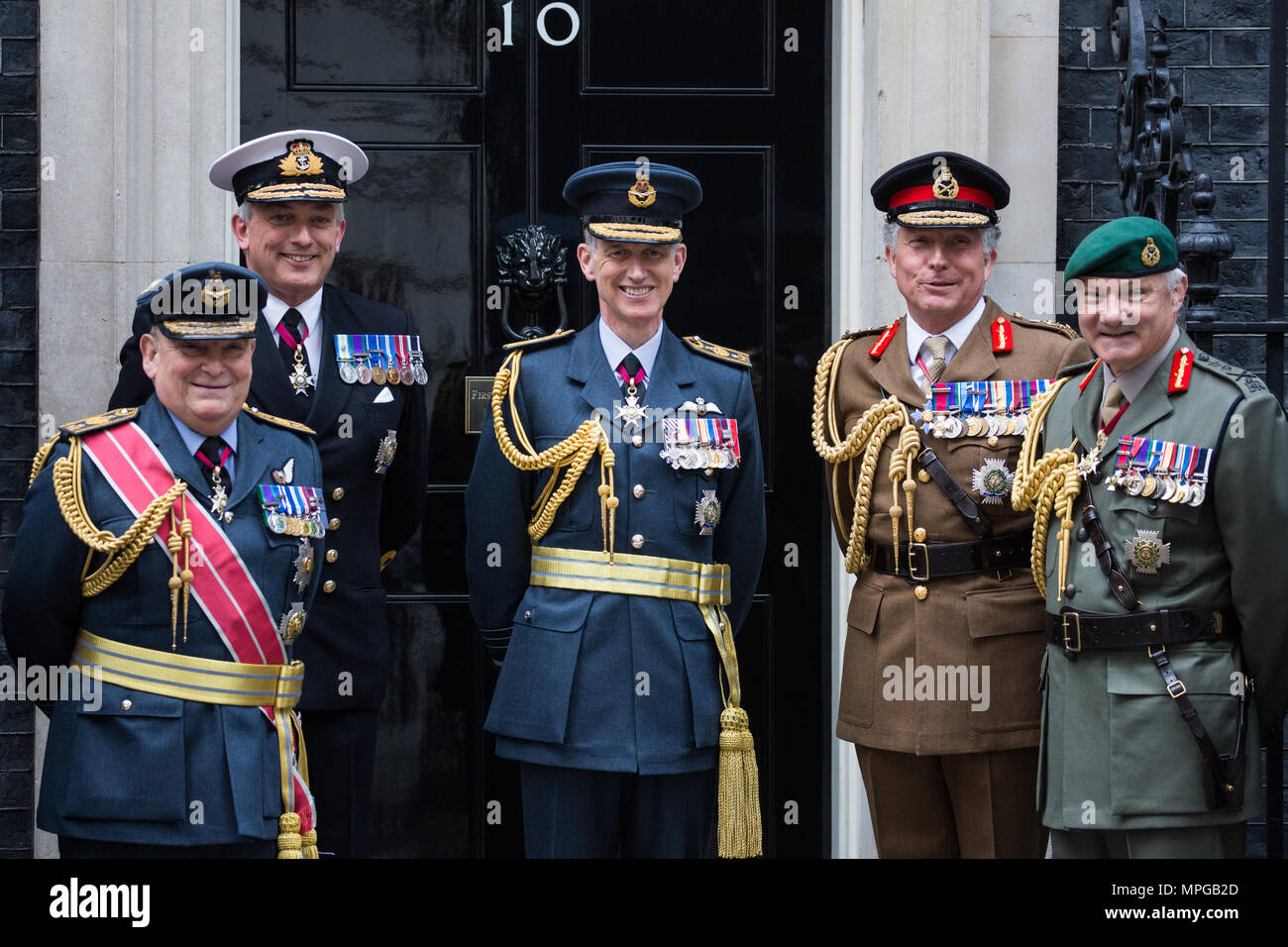 London, UK. 23rd May, 2018. Air Chief Marshal Sir Stuart ...