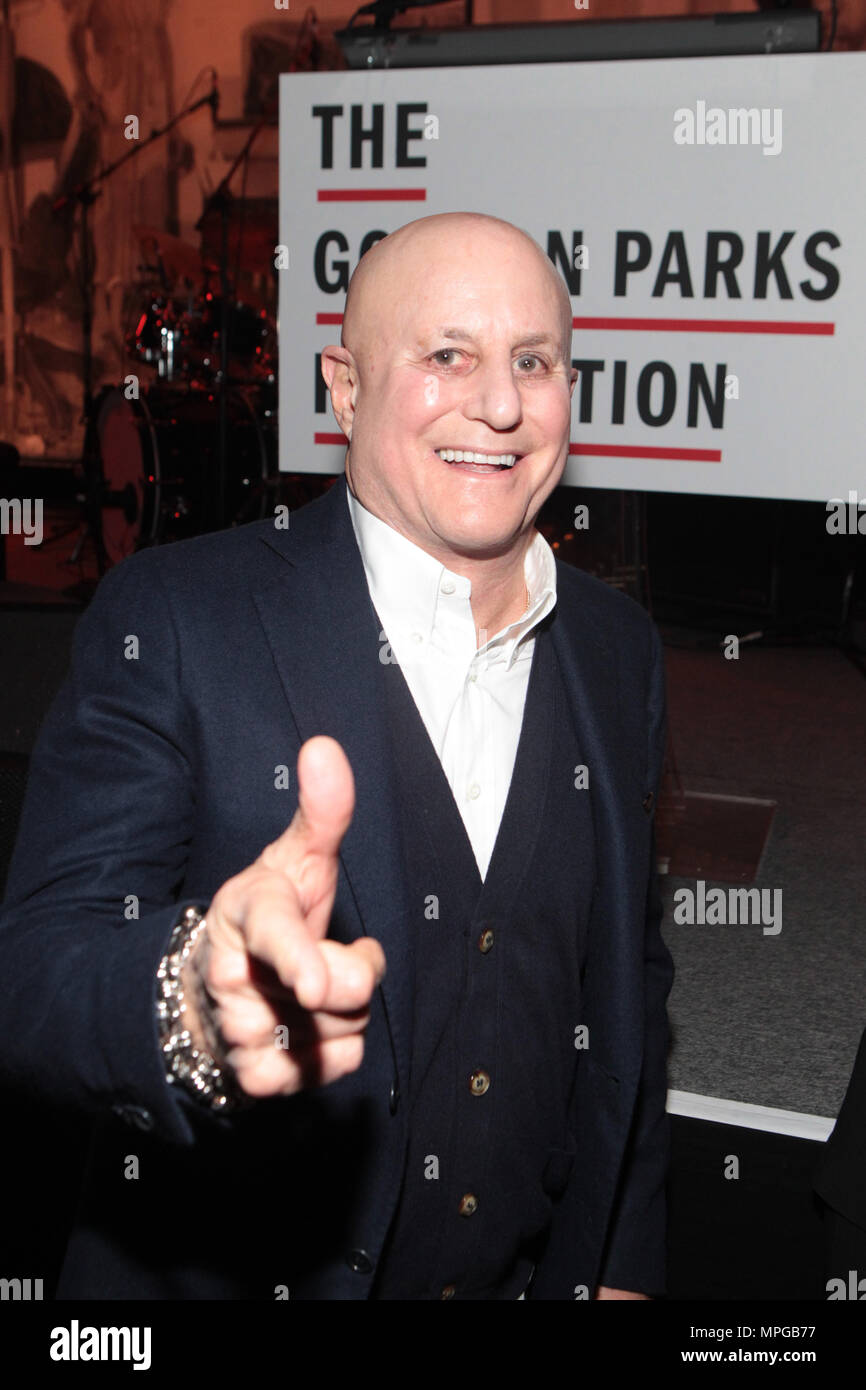 New York, NY, USA. 22nd May, 2018. Ron O. Perelman (Honoree) attends the Gordon Parks Foundation Awards Dinner & Auctionn: Celebrating the Arts & Humanitarianism held at Cipriani 42nd Street on May 22, 2018 in New York City. Credit: Mpi43/Media Punch/Alamy Live News - Stock Image