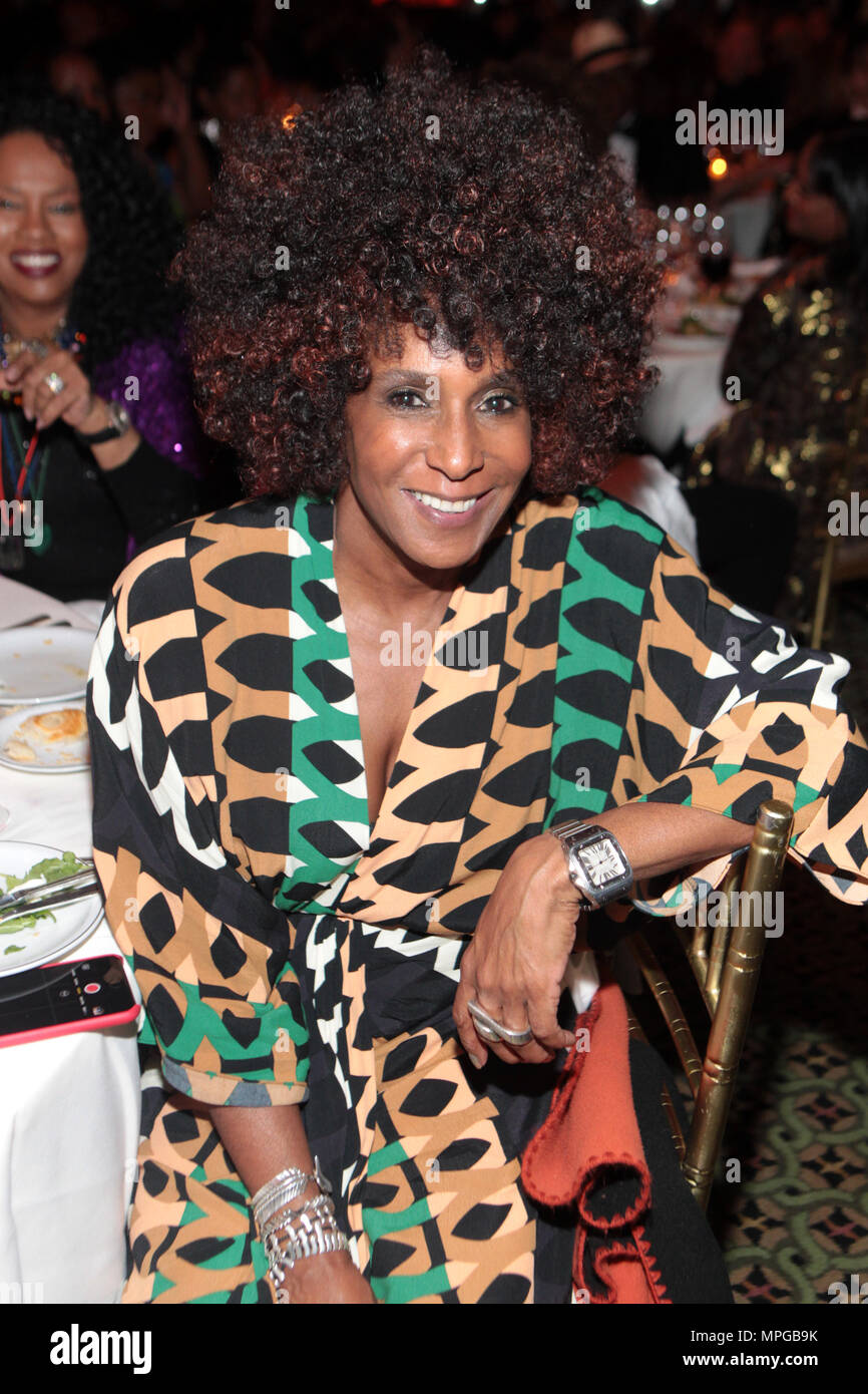 New York, NY, USA. 22nd May, 2018. Photographer Renee Cox attends the Gordon Parks Foundation Awards Dinner & Auctionn: Celebrating the Arts & Humanitarianism held at Cipriani 42nd Street on May 22, 2018 in New York City. Credit: Mpi43/Media Punch/Alamy Live News - Stock Image
